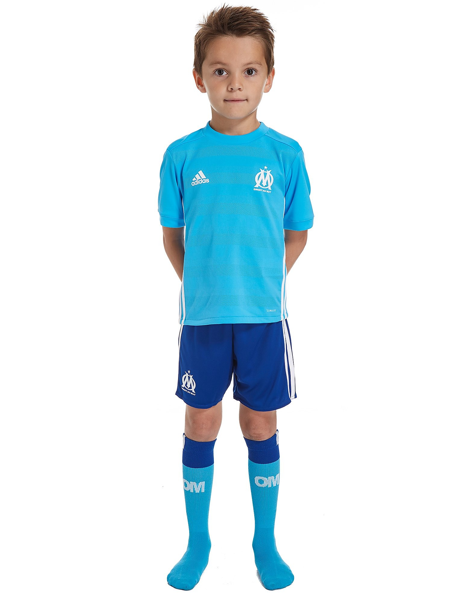 adidas Olympique Marseille 2017/18 Away Kit Children