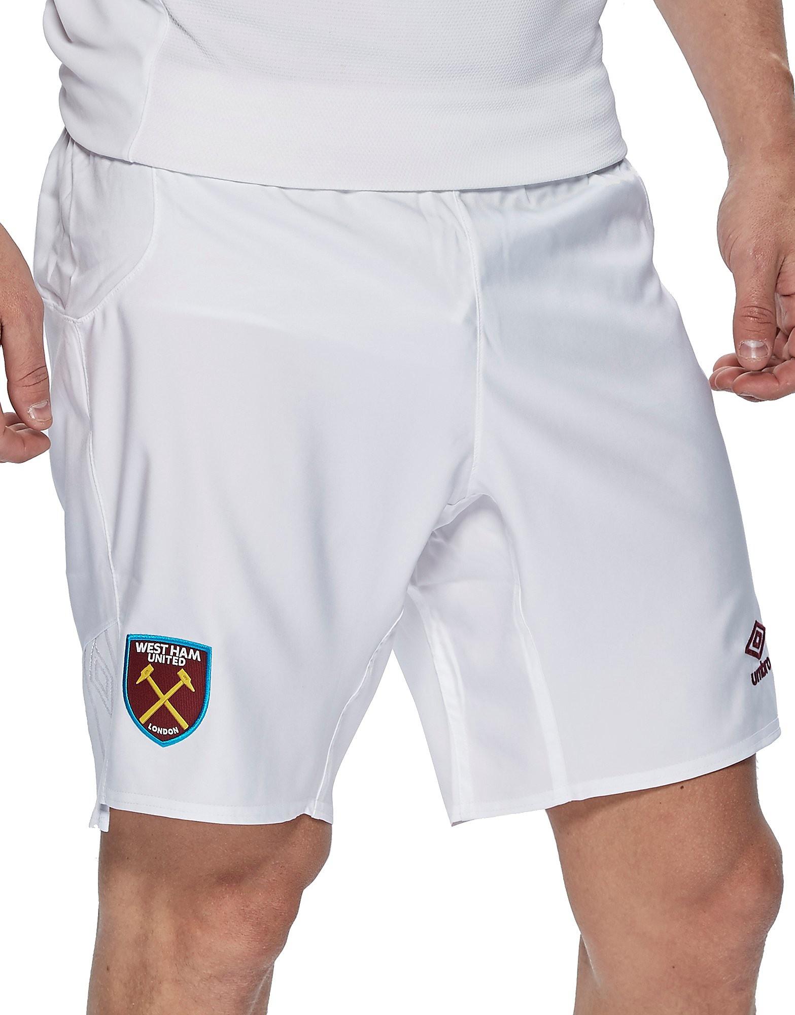 Umbro West Ham United 2017/18 Home Shorts