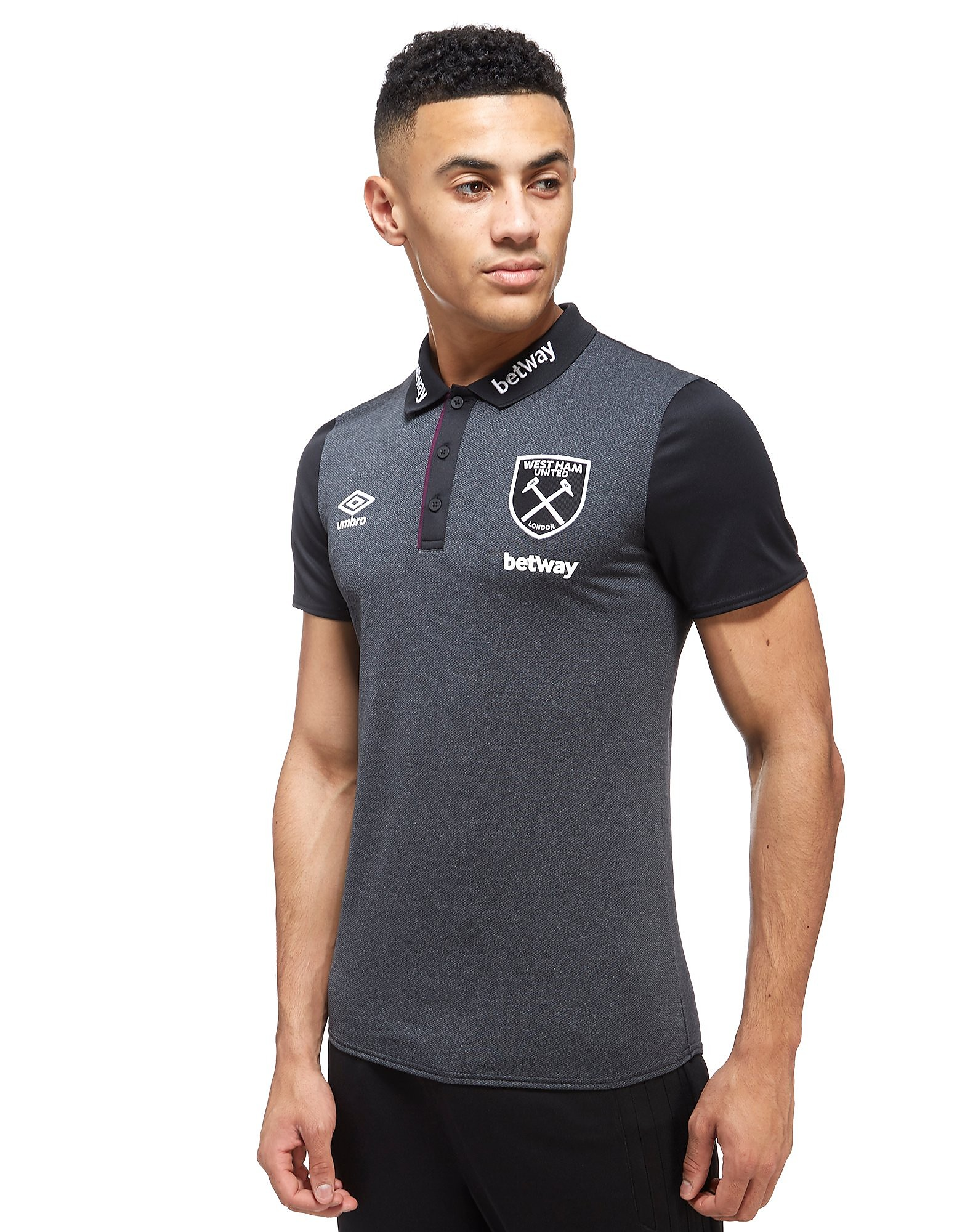Umbro Polo West Ham United Poly Homme