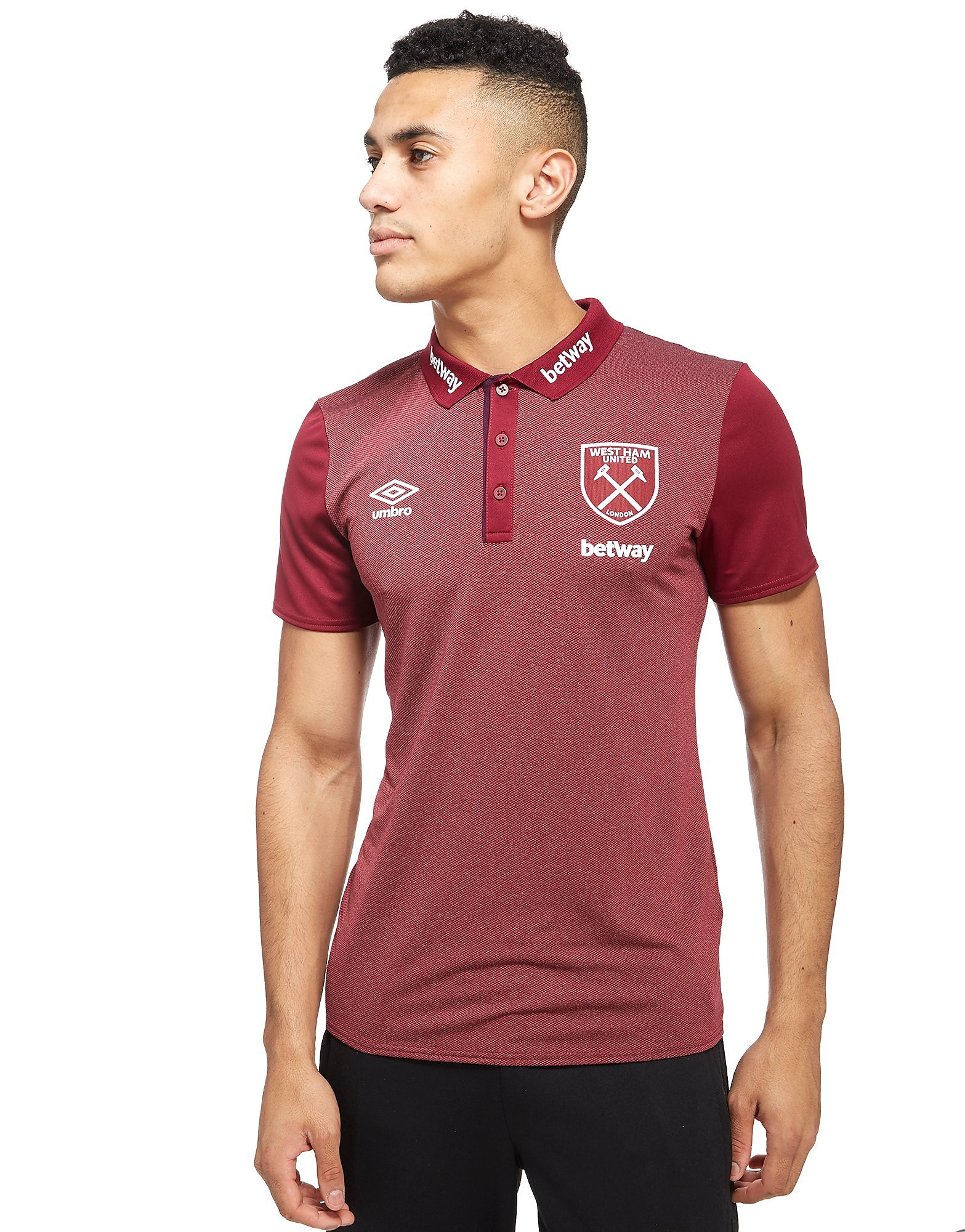 Umbro West Ham United Poly Polo Shirt