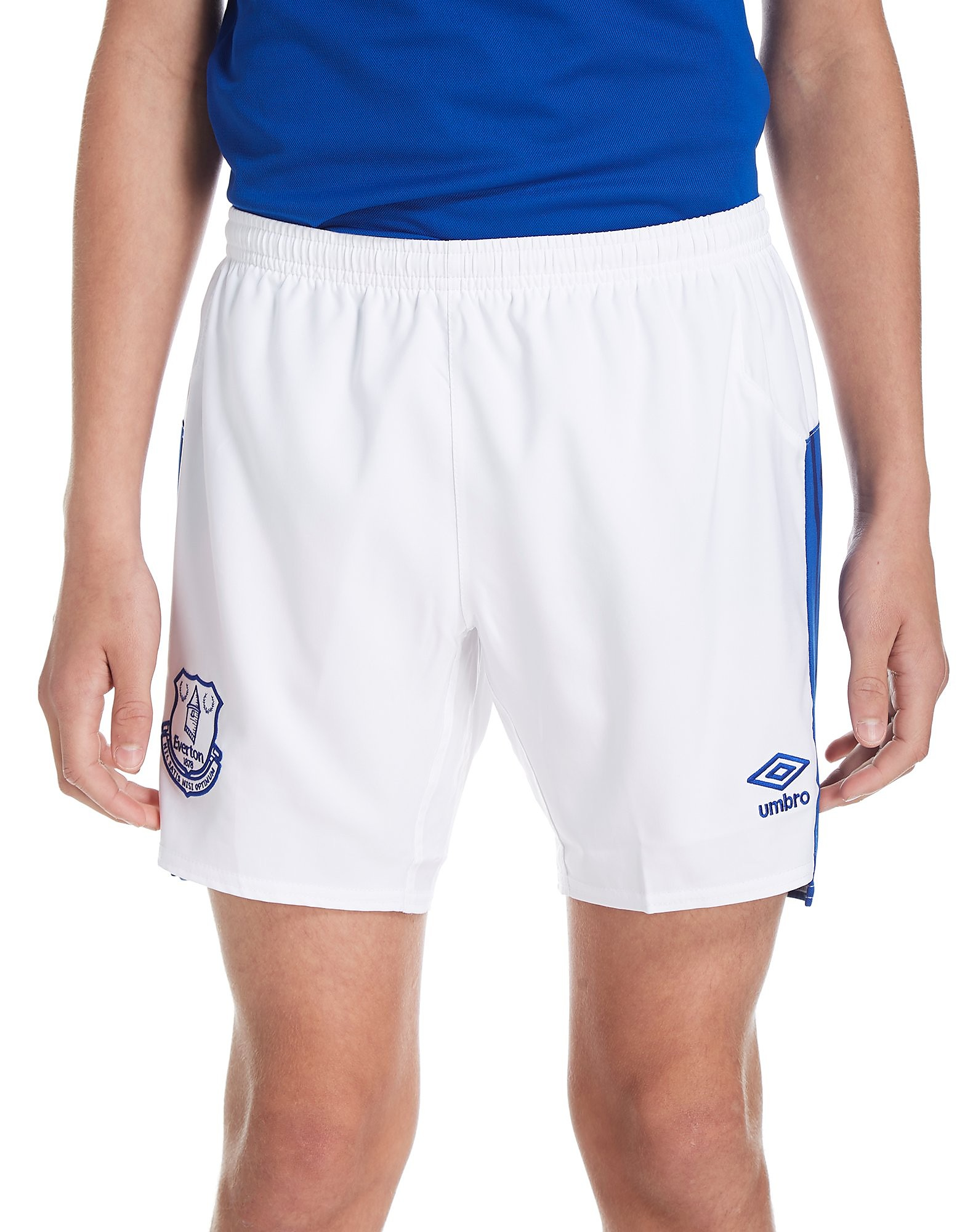 Umbro Everton FC 2017/18 Home Shorts Junior