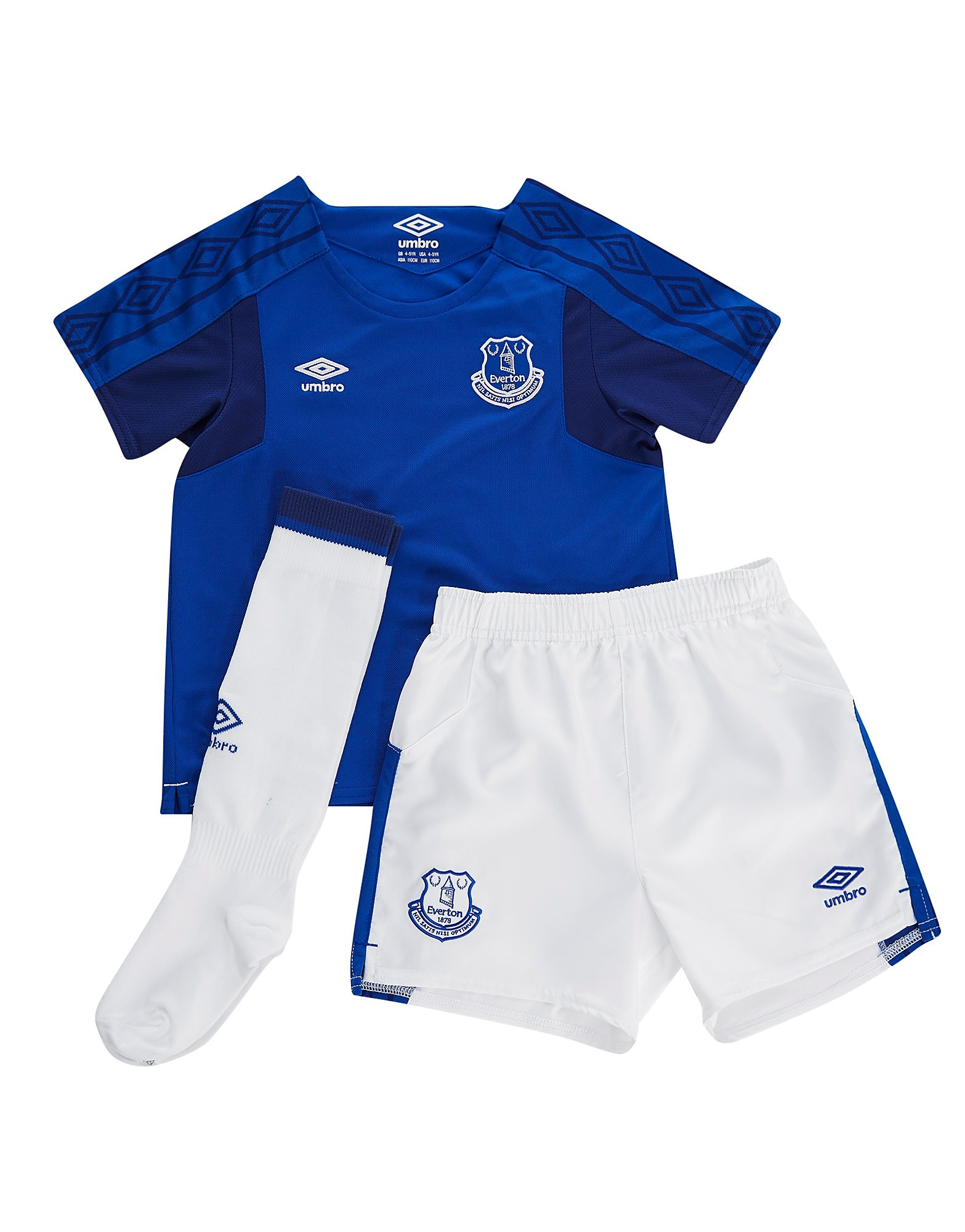 Umbro Everton FC 2017/18 Home Kit Children