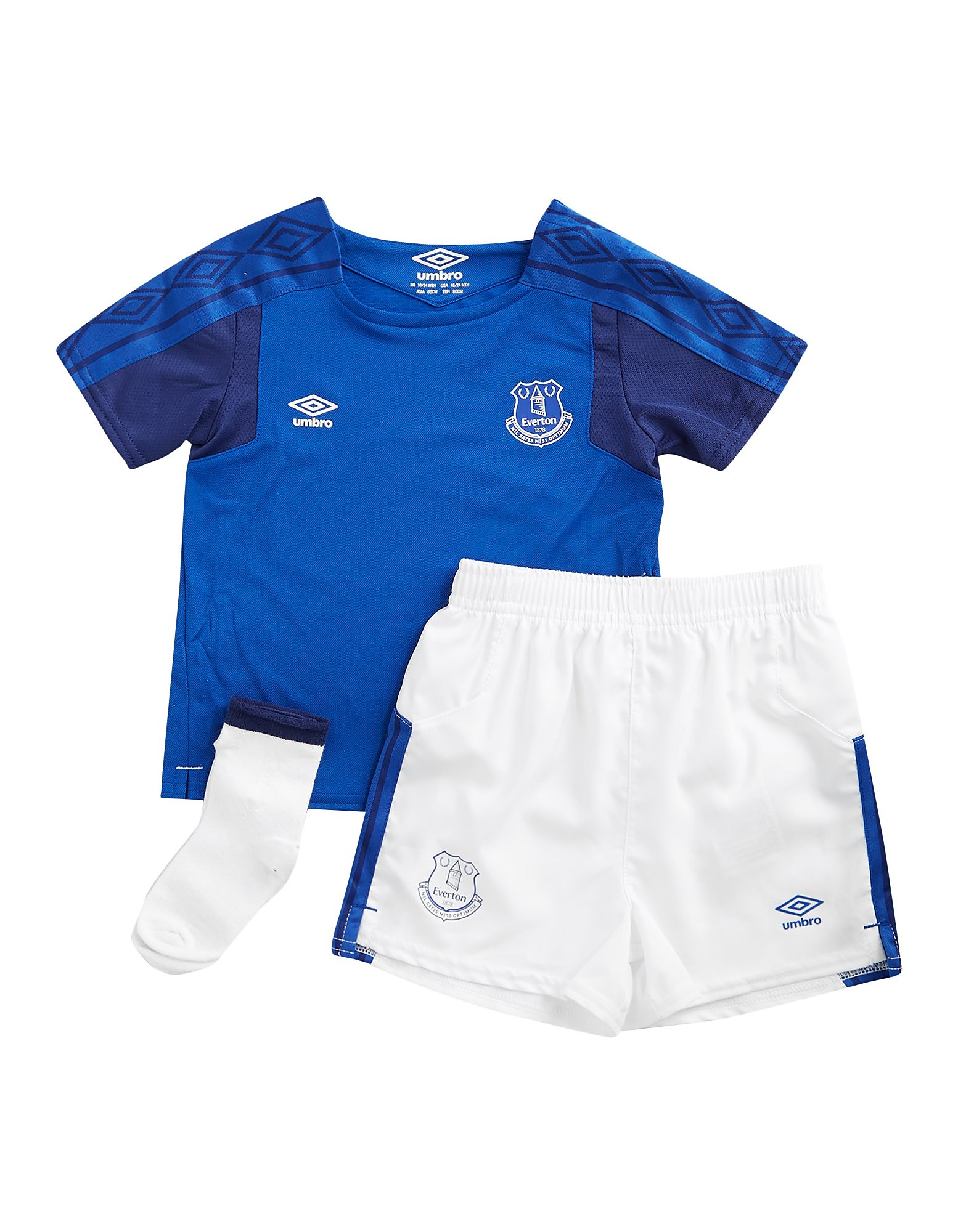 Umbro Everton FC 2017/18 Home Kit Infant