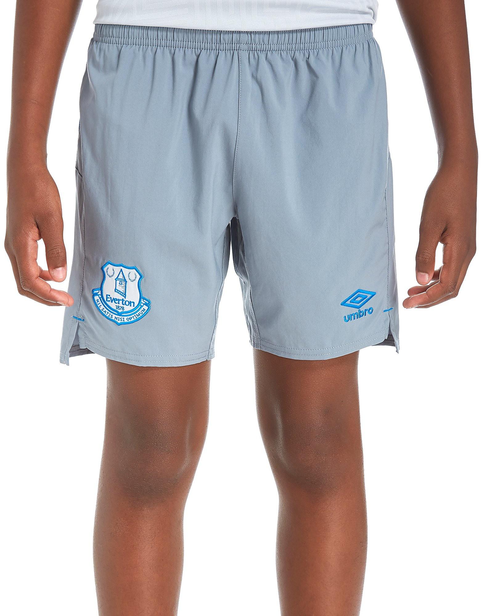 Umbro Everton FC 2017/18 Away Shorts Junior