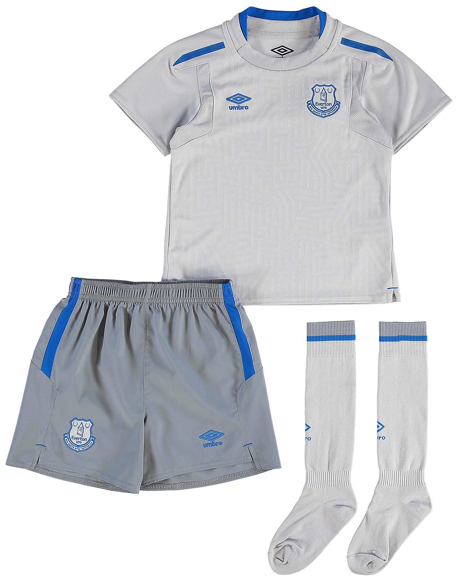 Umbro Everton FC 2017/18 Away Kit Children