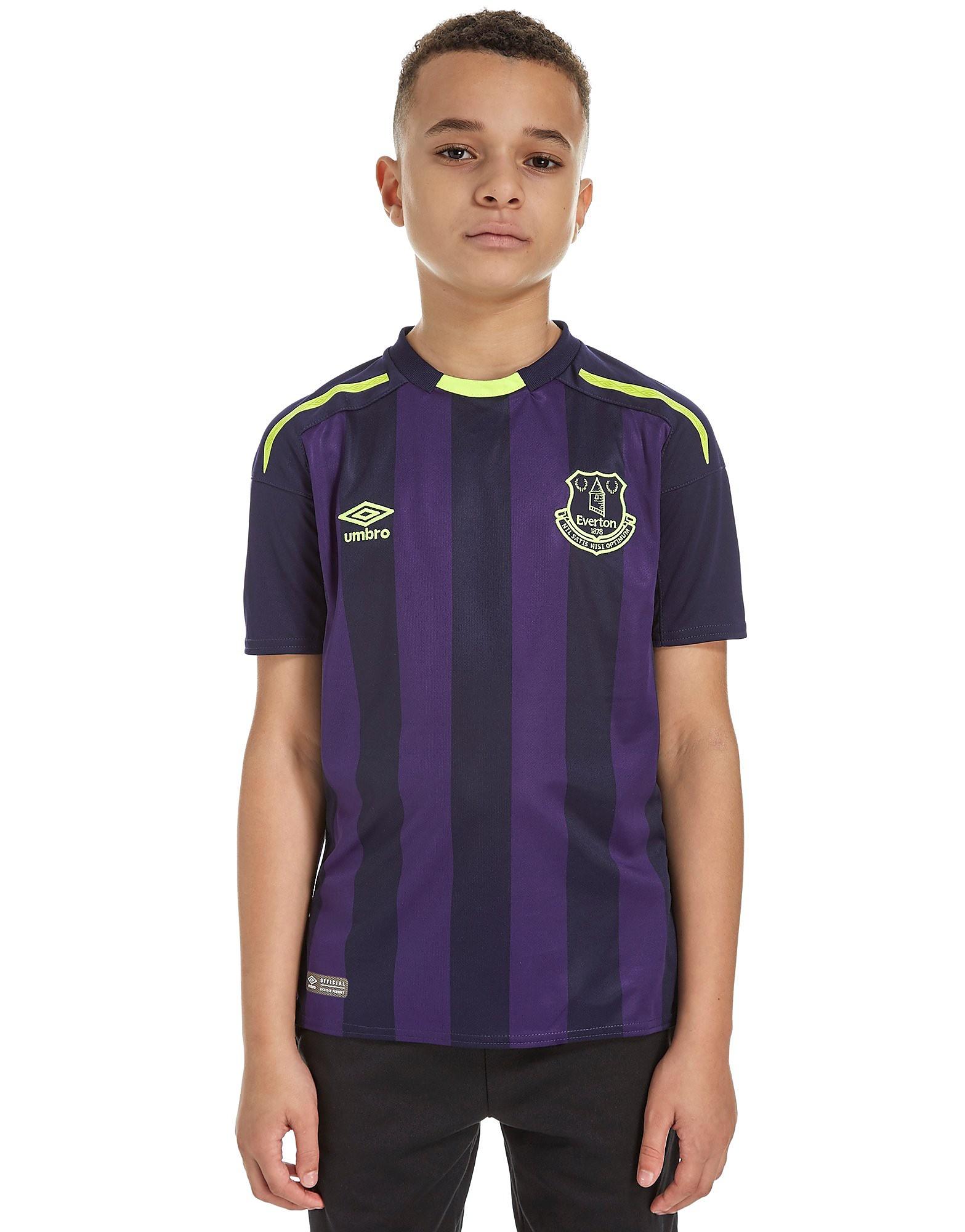 Umbro Everton FC 2017/18 Third Shirt Junior