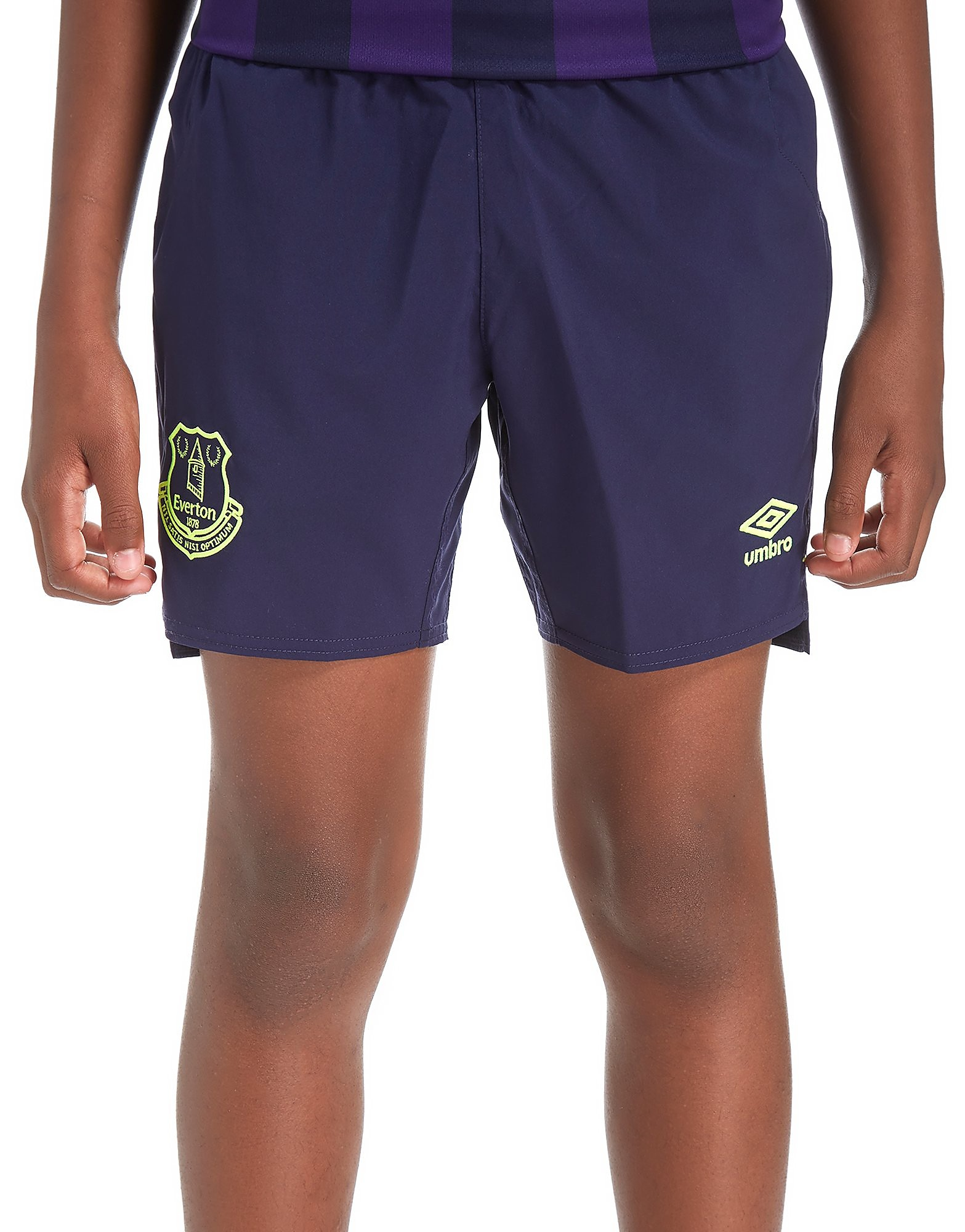 Umbro Everton FC 2017/18 Third Shorts Junior