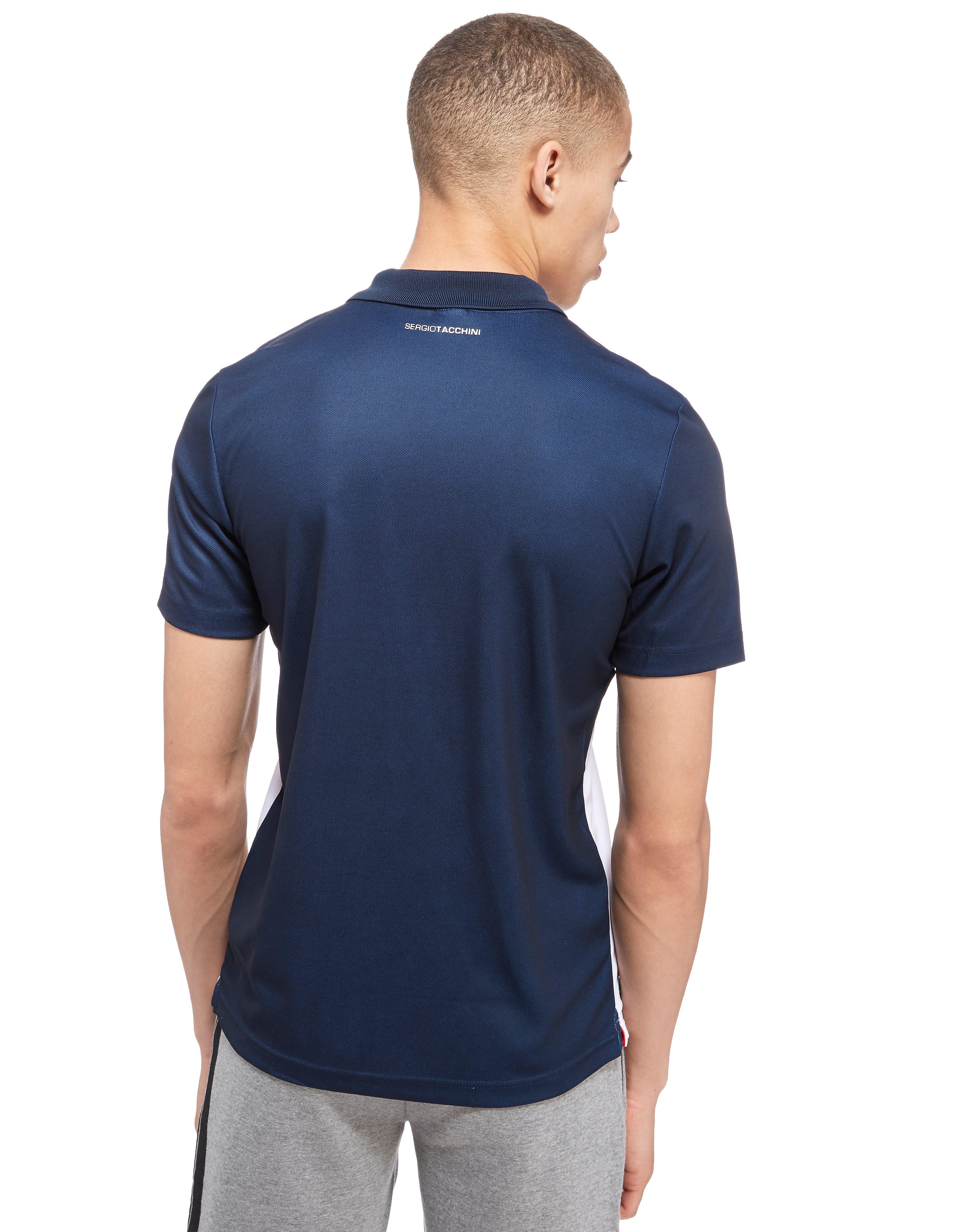 Sergio Tacchini Vinyl Stripe Polo Shirt
