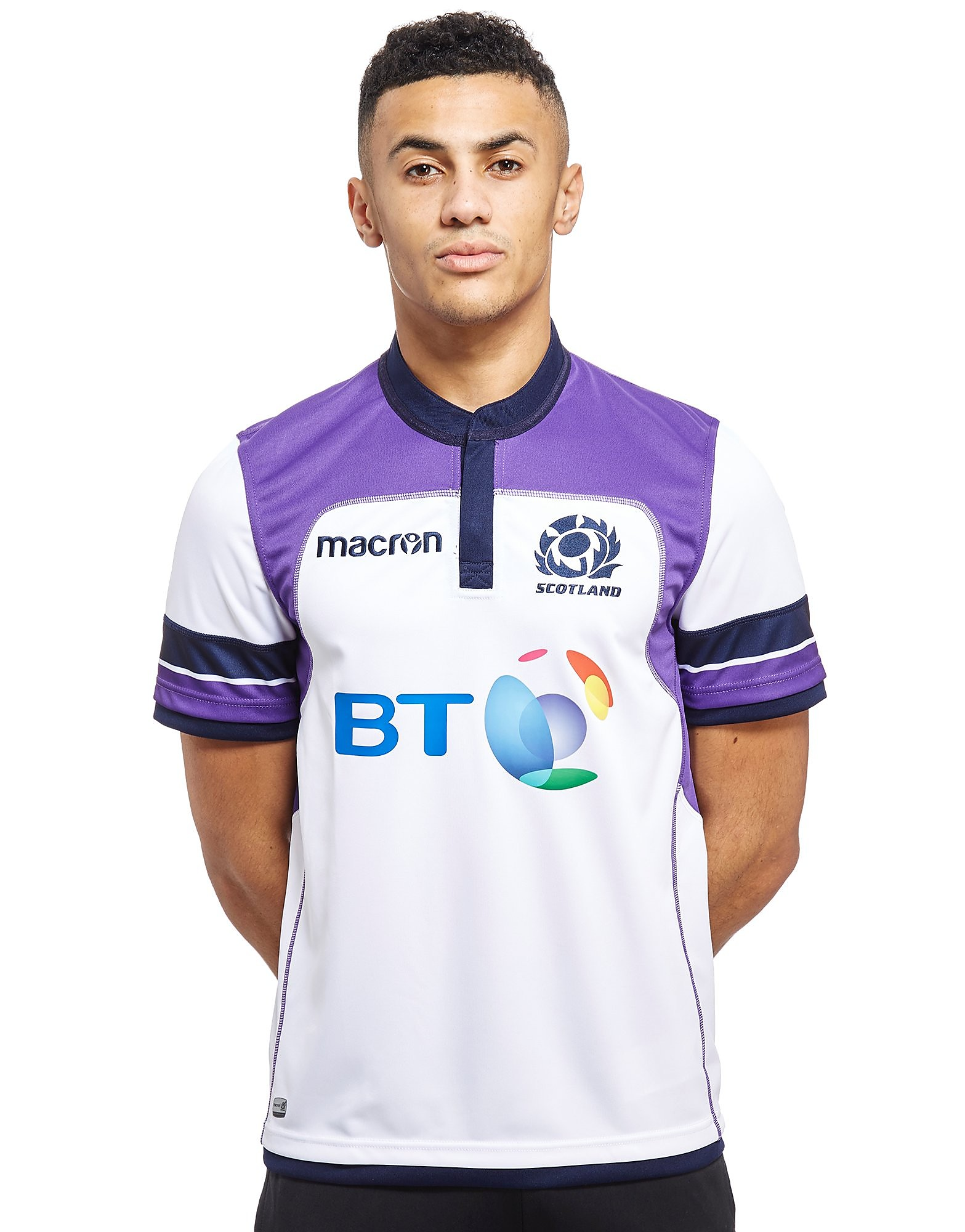 Macron Official Scotland Alternative Replica Maglia Squadra