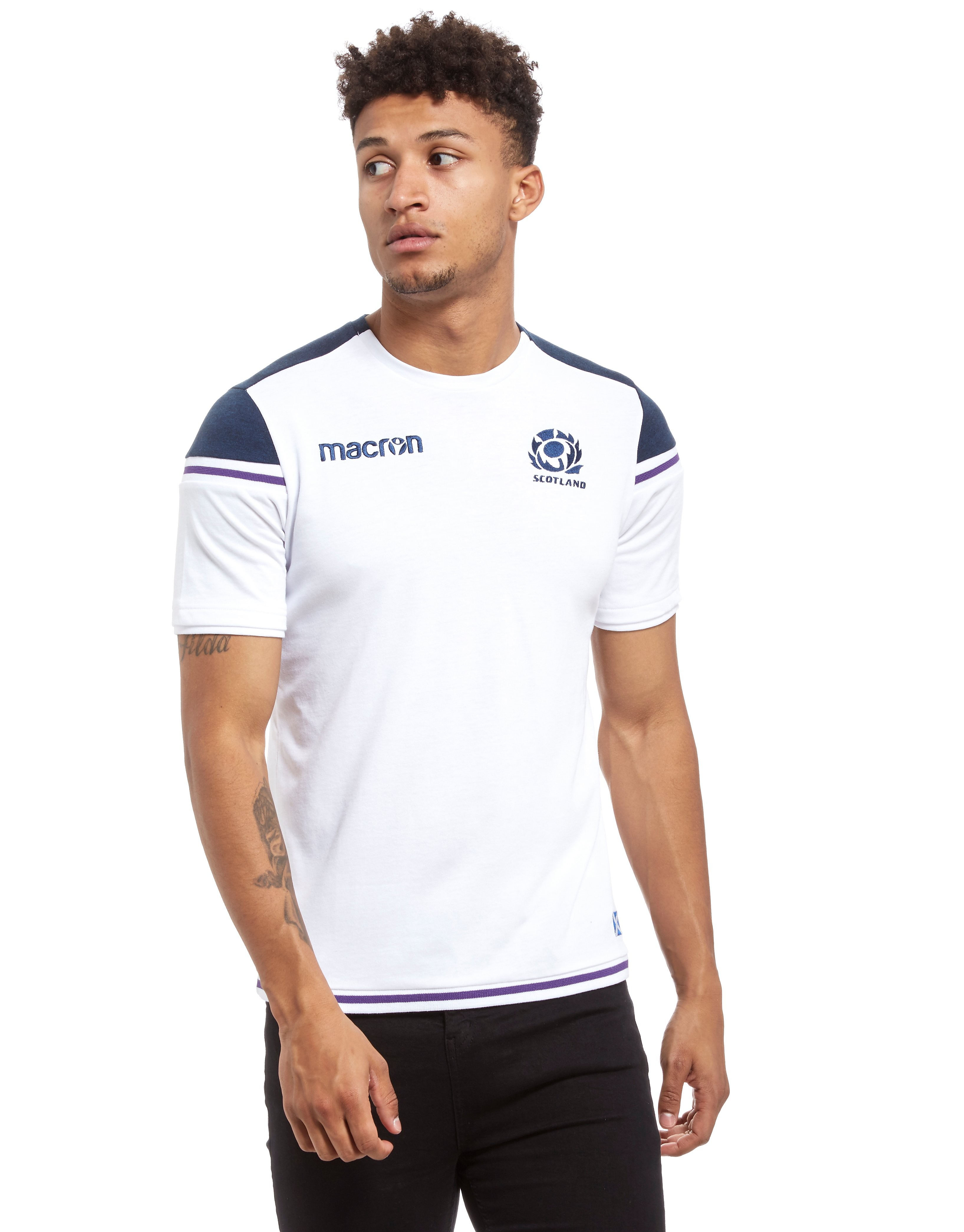 Macron Scotland Rugby Training Shirt