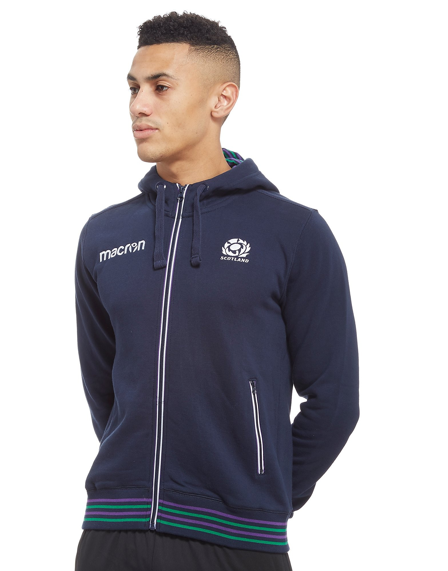 Macron Scotland Rugby Union Hoodie