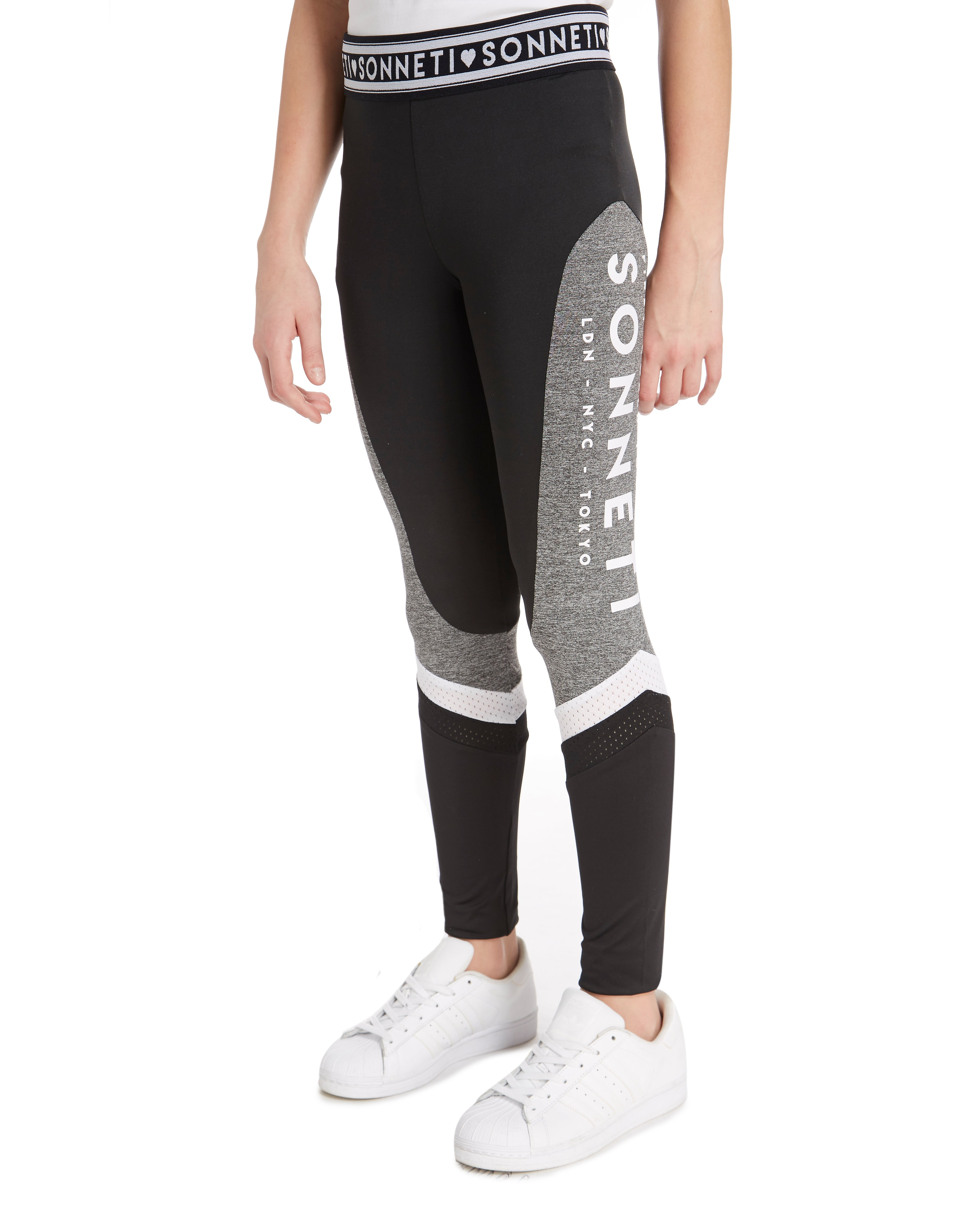 Sonneti Girls' Taper Mesh Leggings Junior