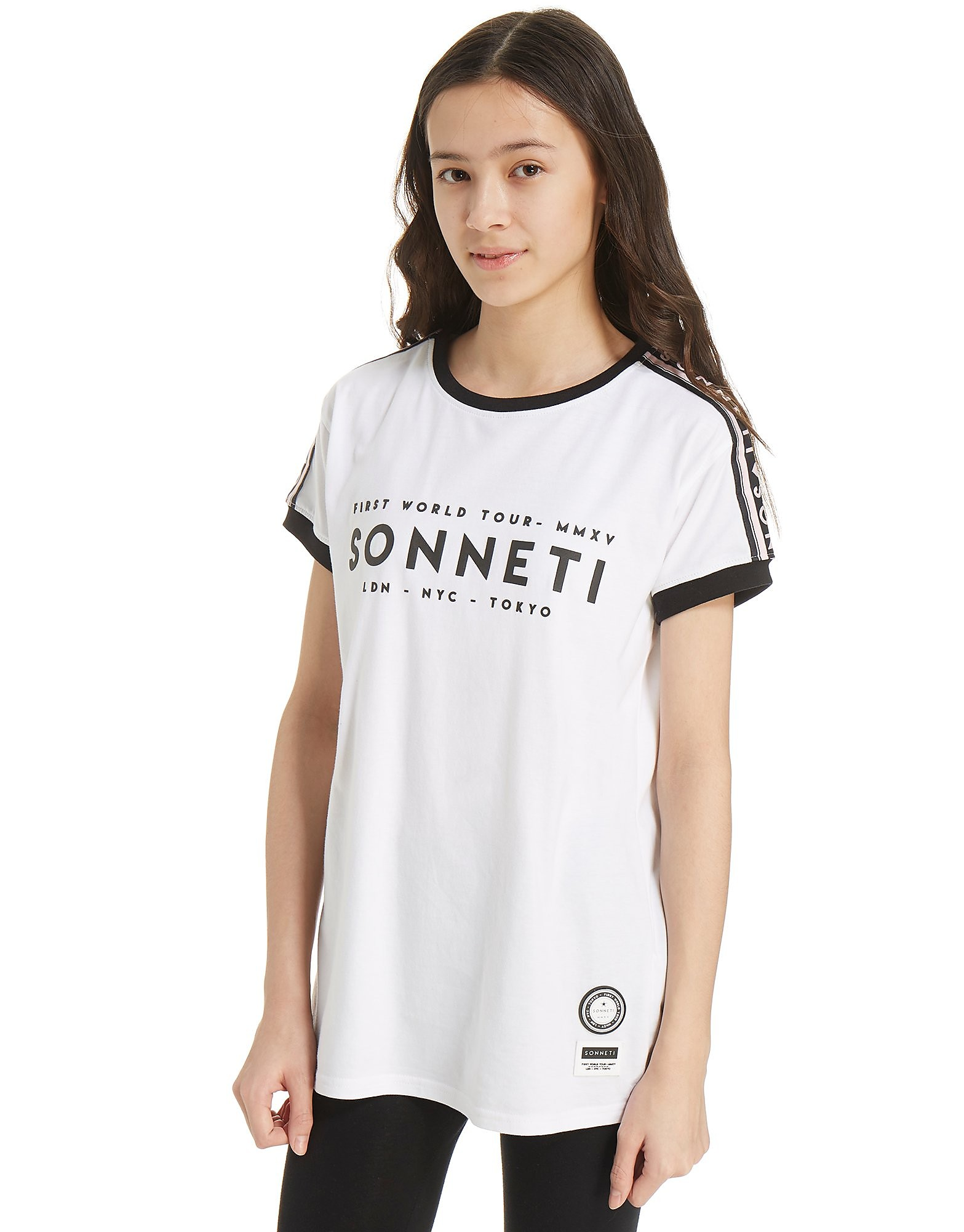 Sonneti Girls' Sporta Tape T-Shirt Junior