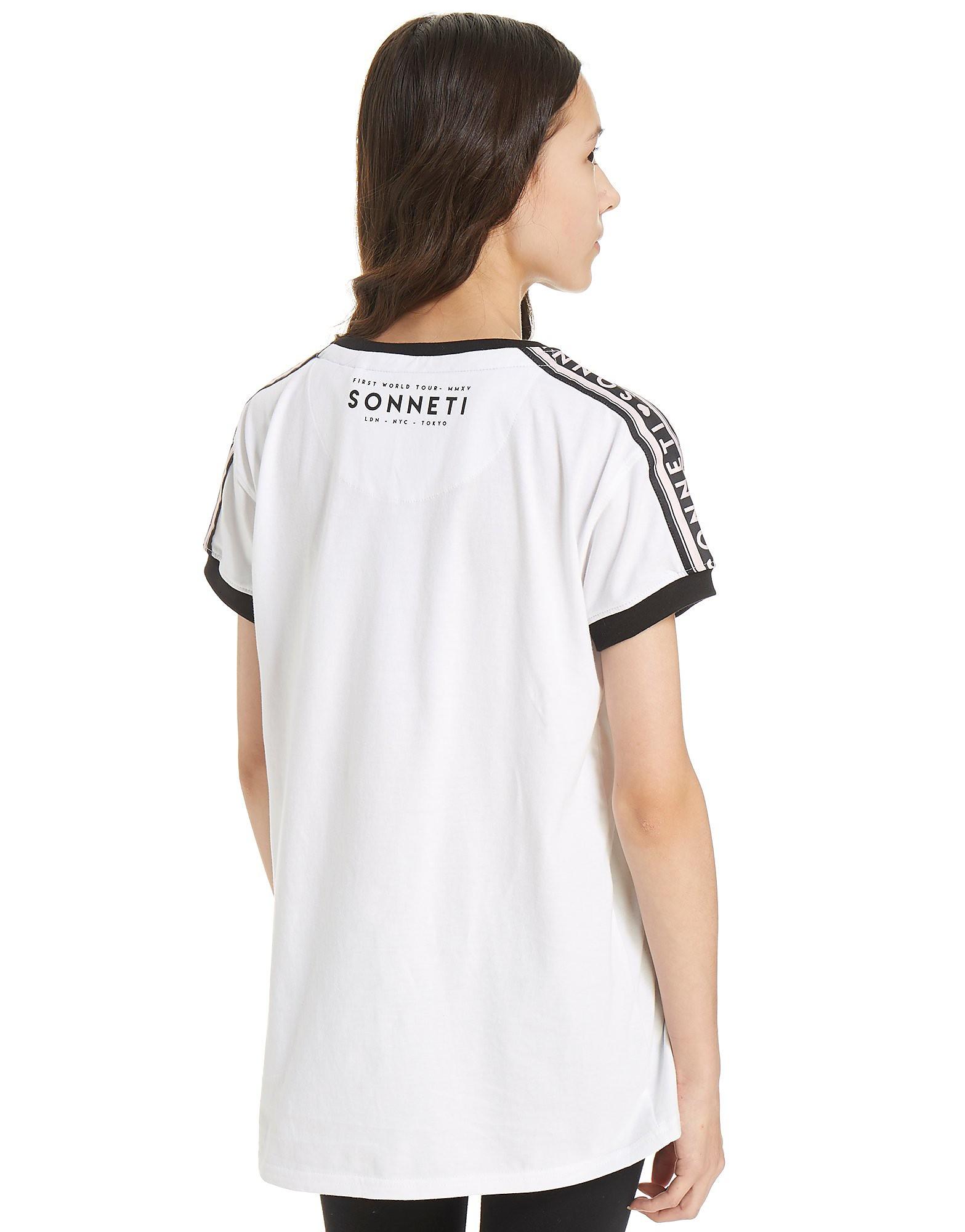 Sonneti Girls' Sporta Tape T-Shirt Junior
