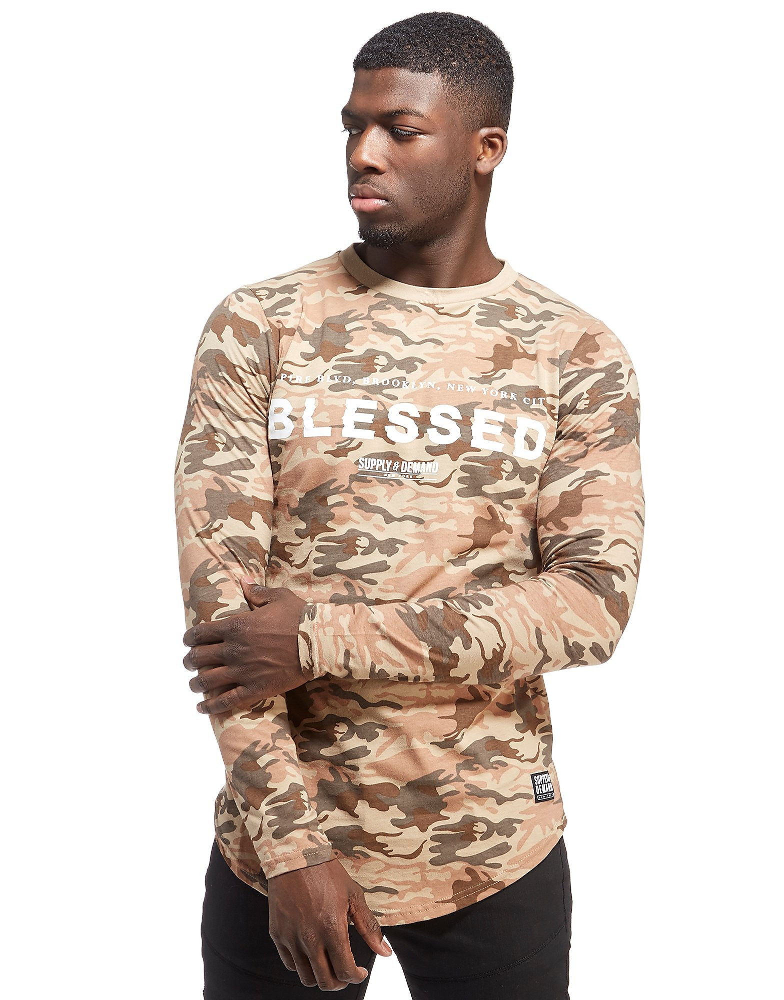 Supply & Demand Mission Longsleeve T-Shirt