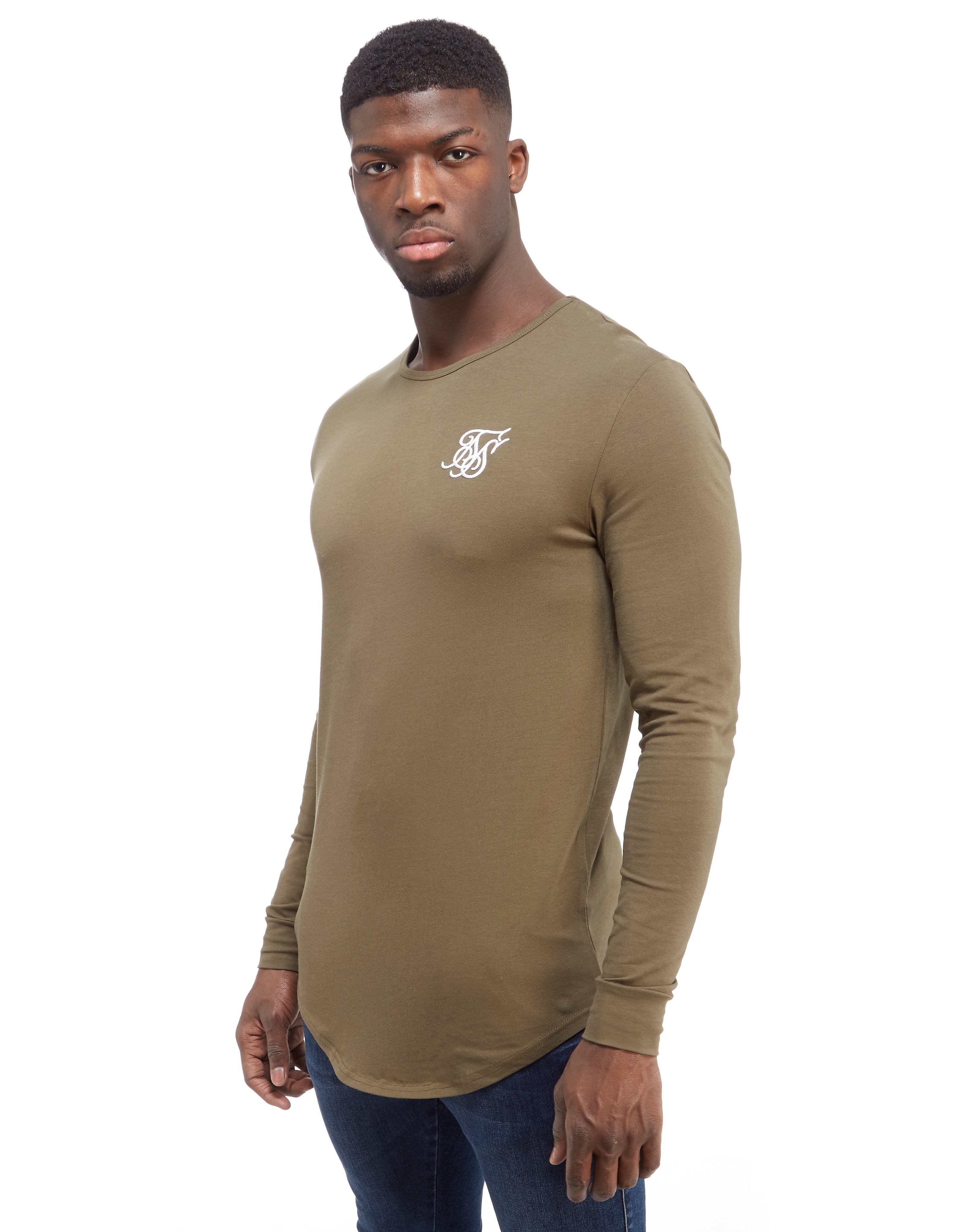 SikSilk Langærmet Muscle T-shirt
