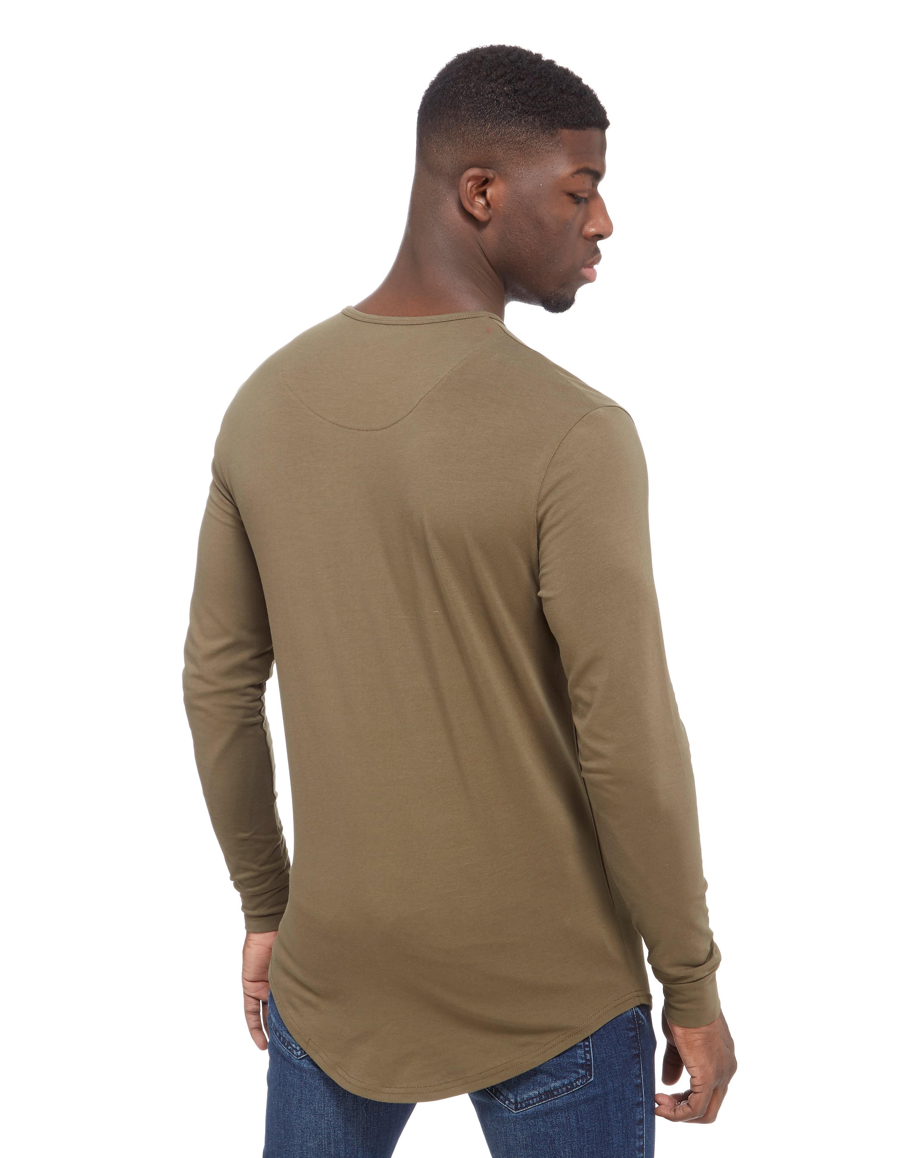 SikSilk Longsleeve Muscle T-Shirt