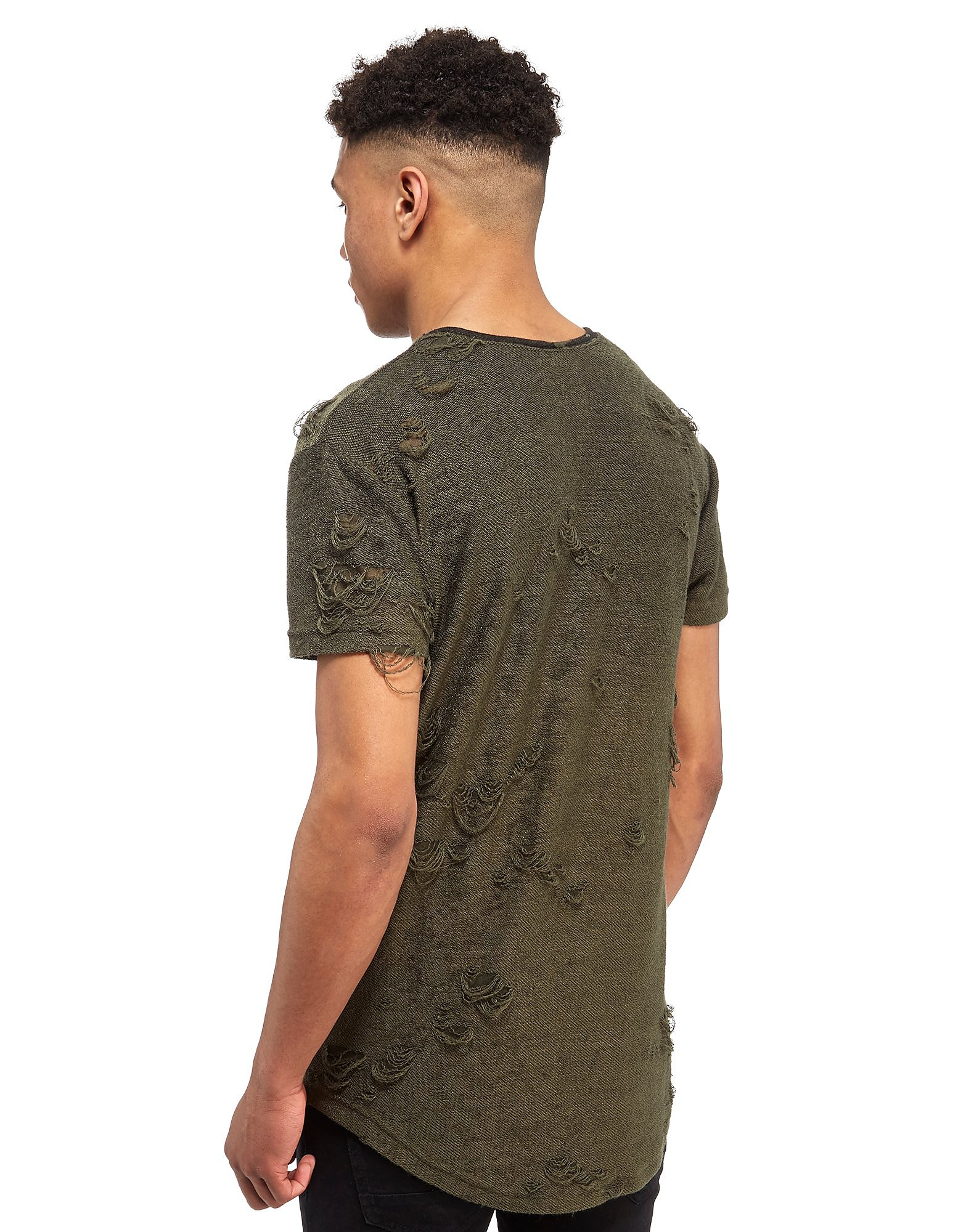 SikSilk Tord Terry T-Shirt