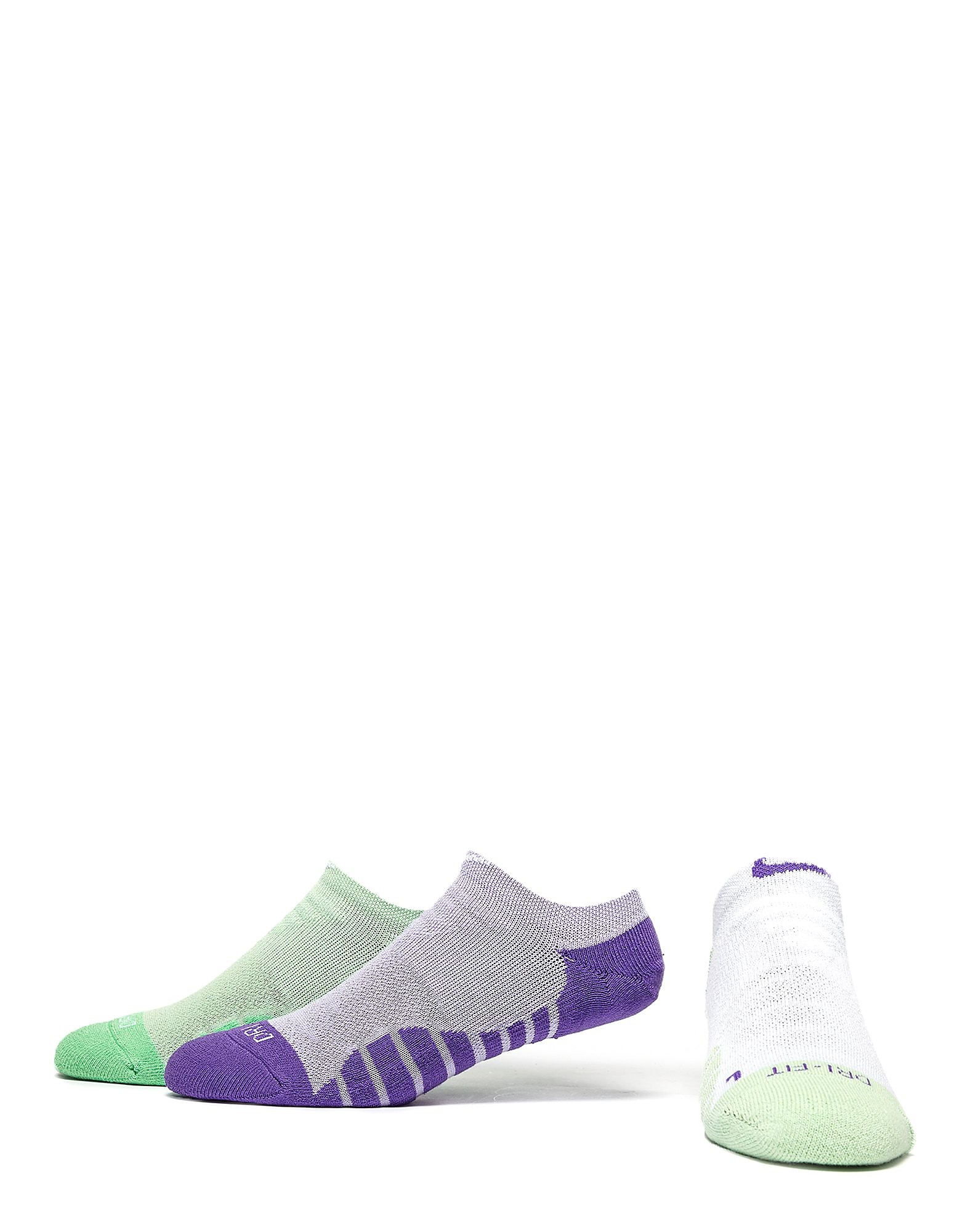 Nike Chaussettes 3 Pack No Show Running Femme