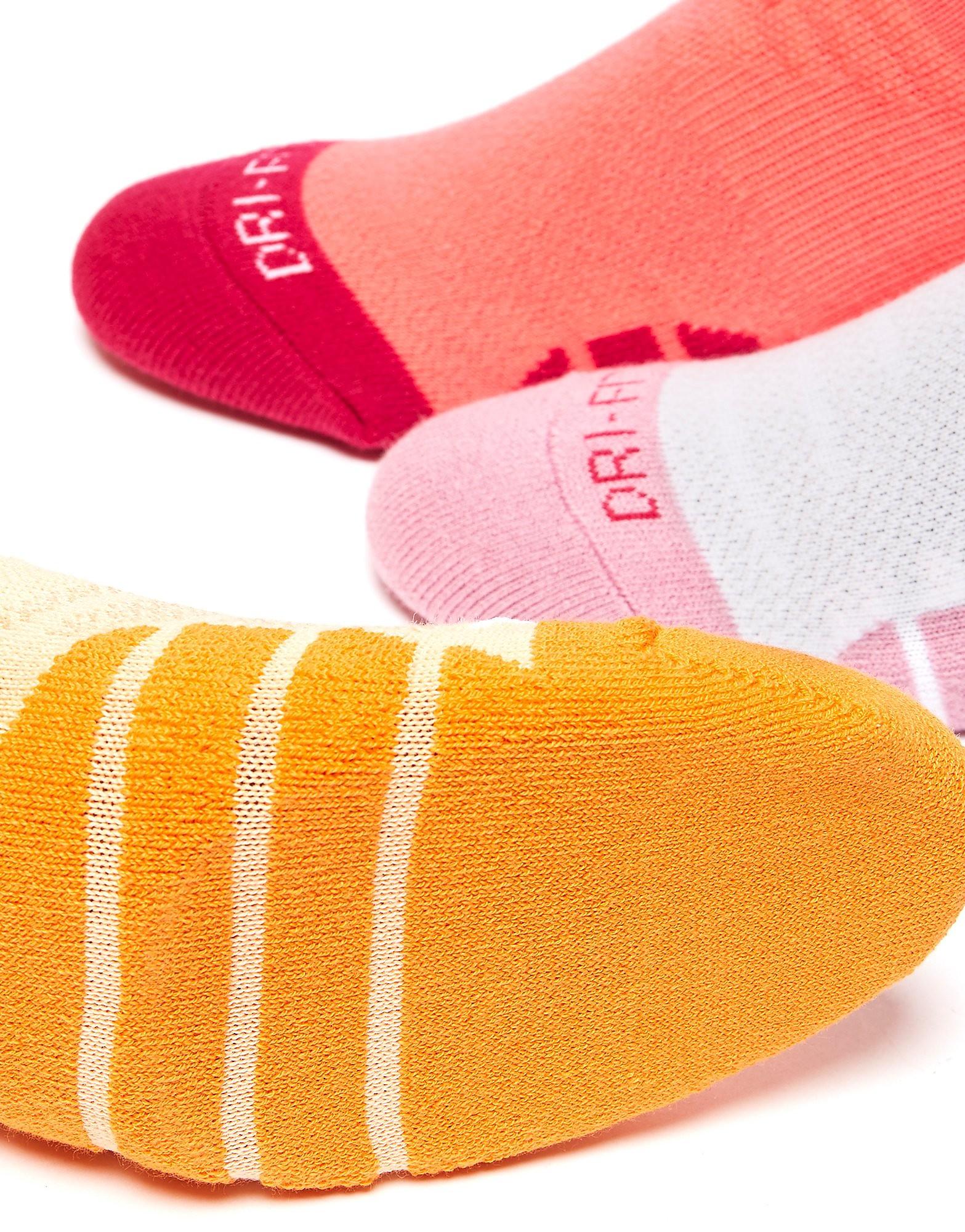 Nike 3 paar Dri-FIT-sokken