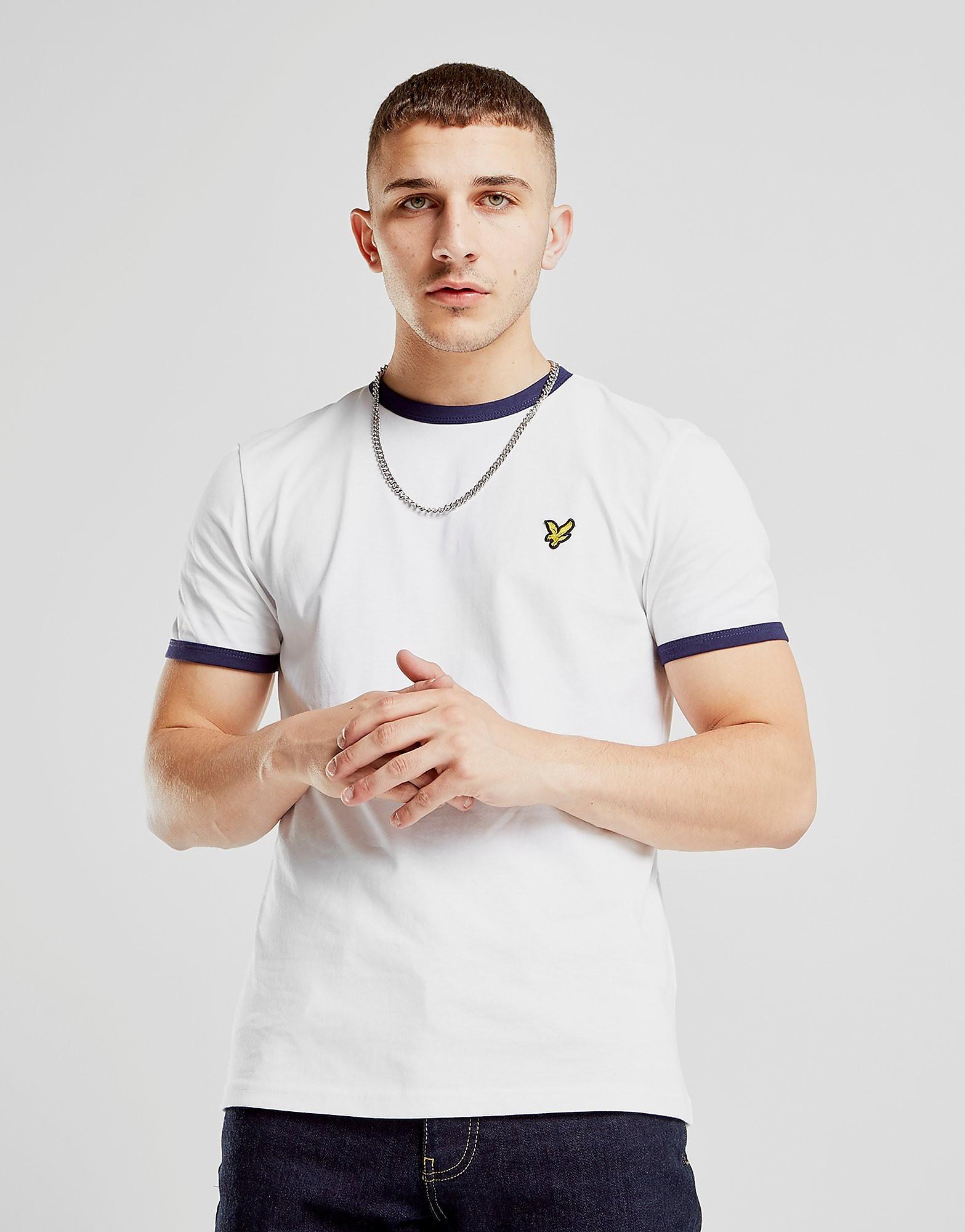 Lyle & Scott Ringer T-Shirt Homme - White, White