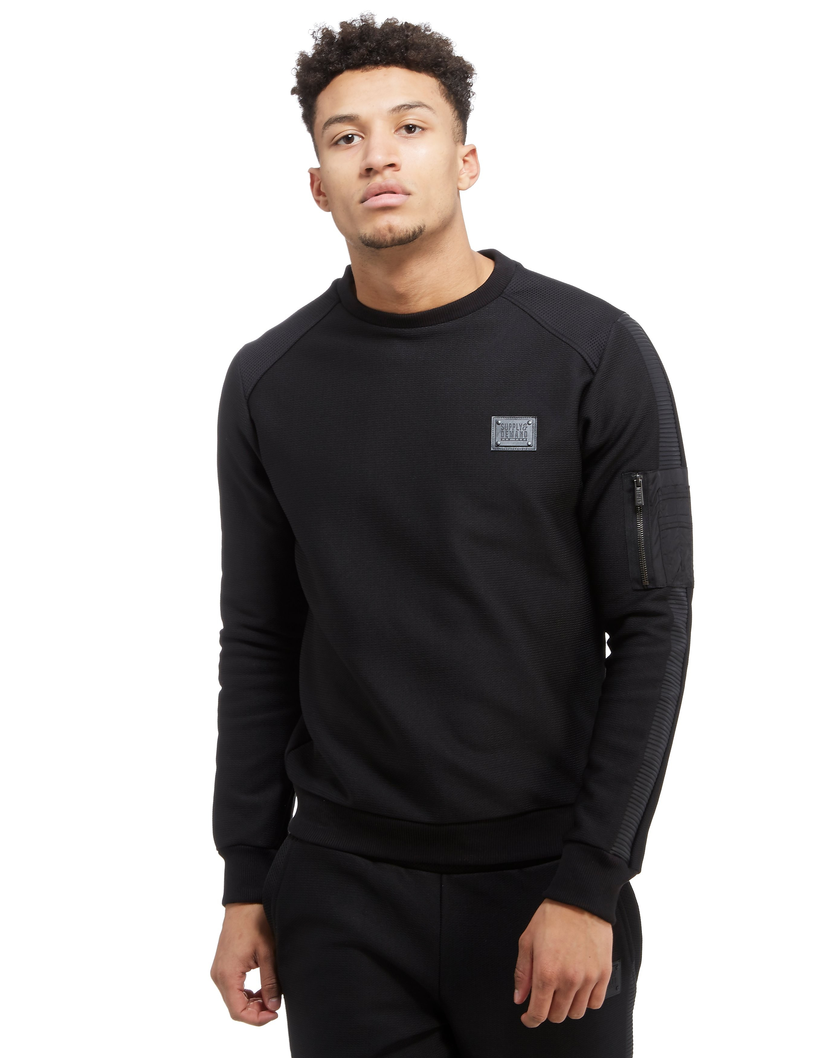 Supply & Demand Ringer Crew Sweatshirt
