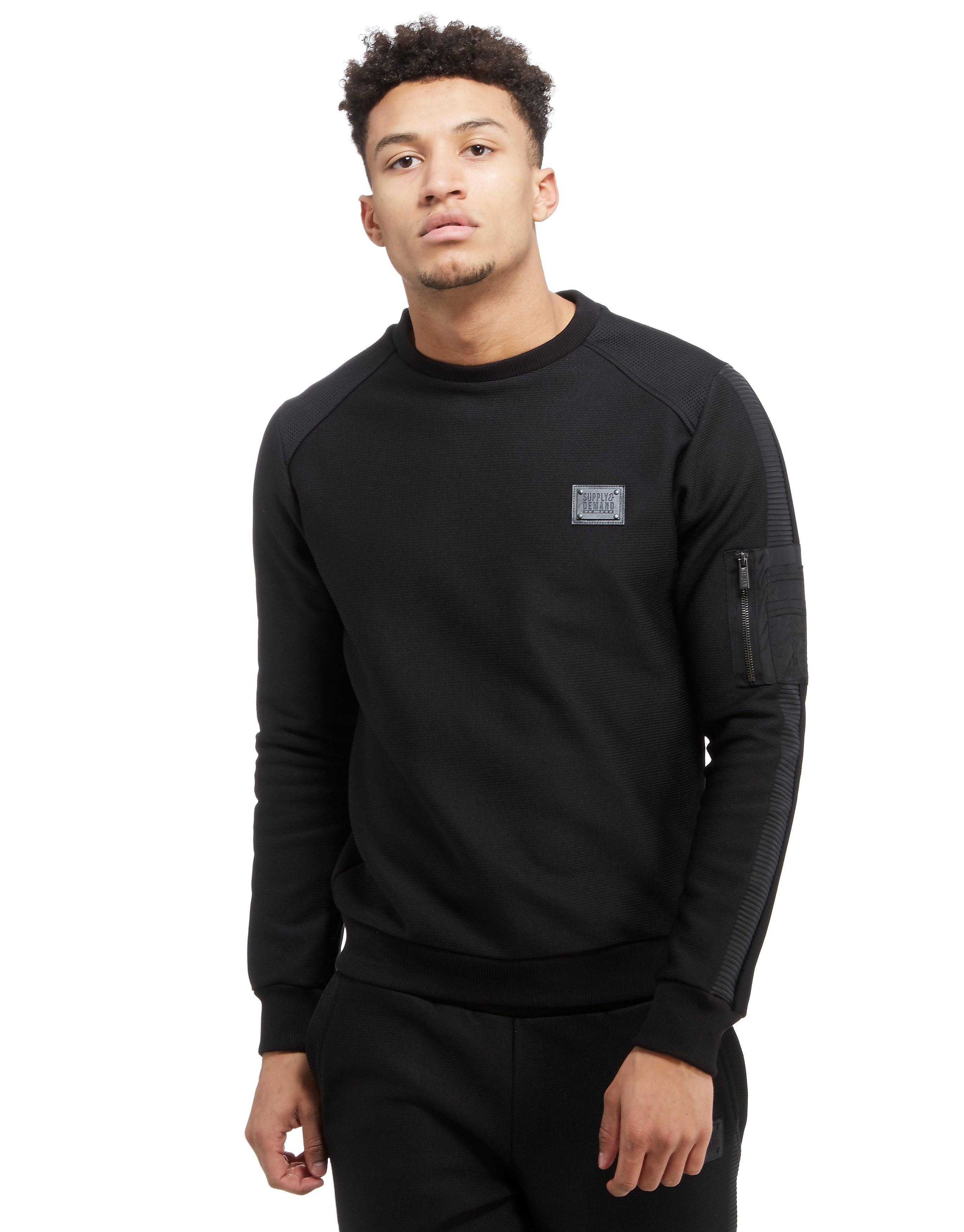Supply & Demand Ringer Crew Sweatshirt