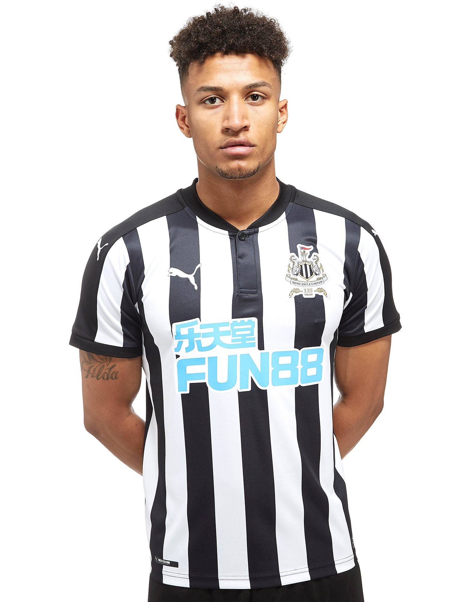 PUMA Newcastle United FC 2017/18 Home Shirt