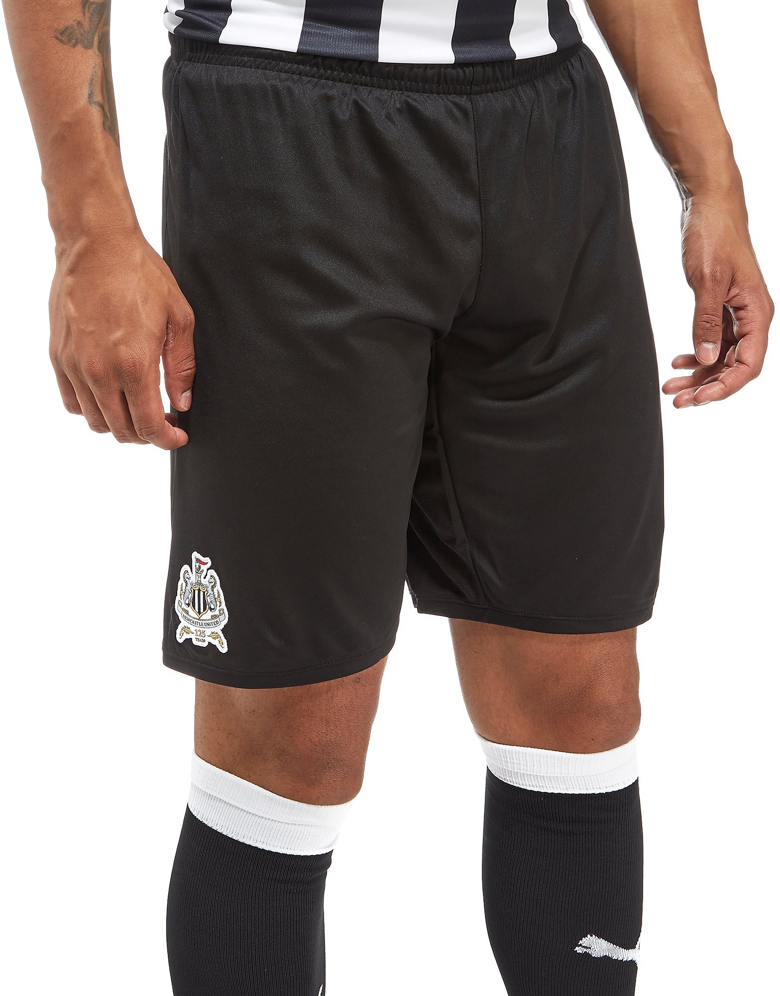 PUMA Newcastle United FC 2017/18 Home Shorts PRE ORDER