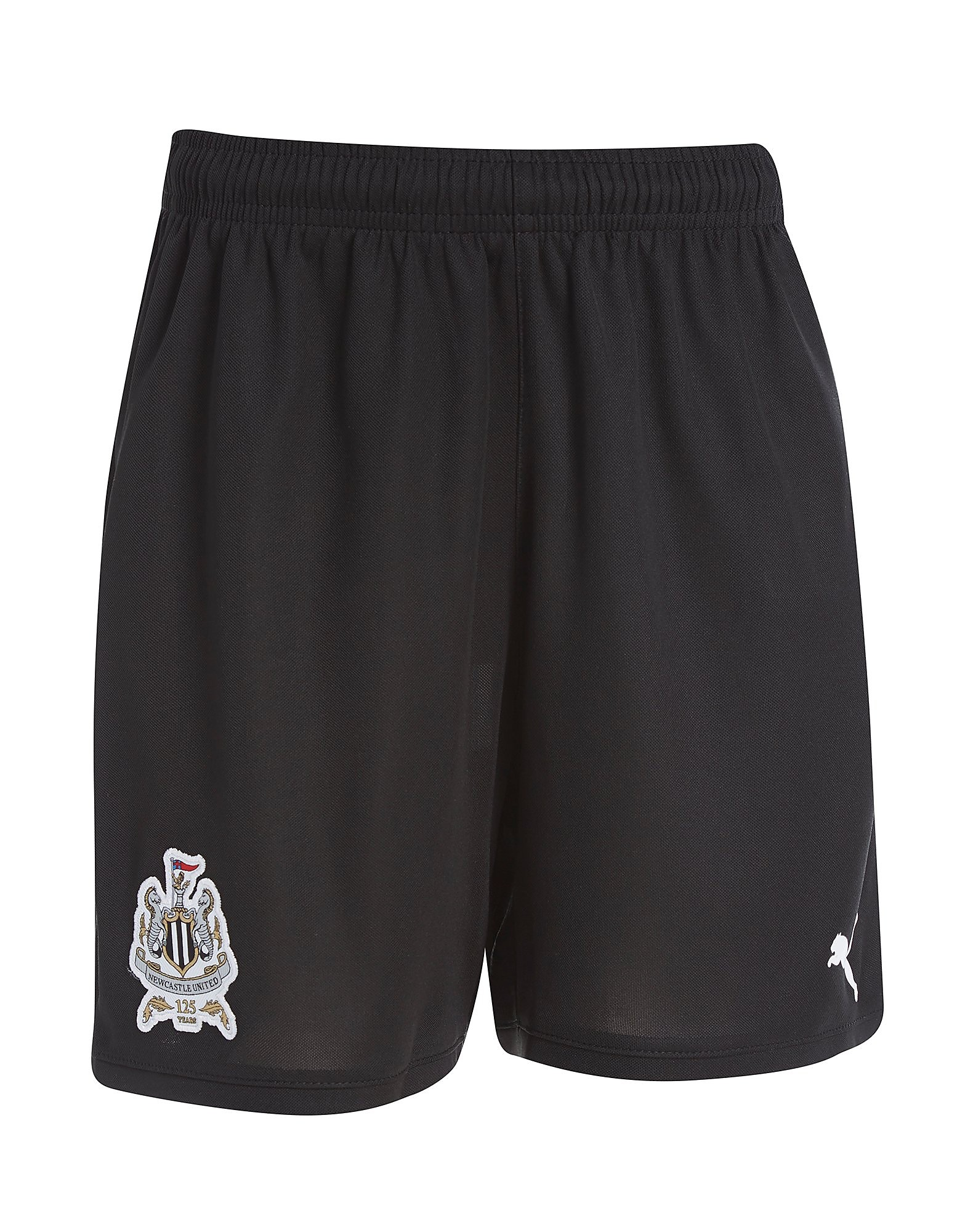 PUMA Newcastle United 2017/18 Home Shorts Jnr PRE ORDER