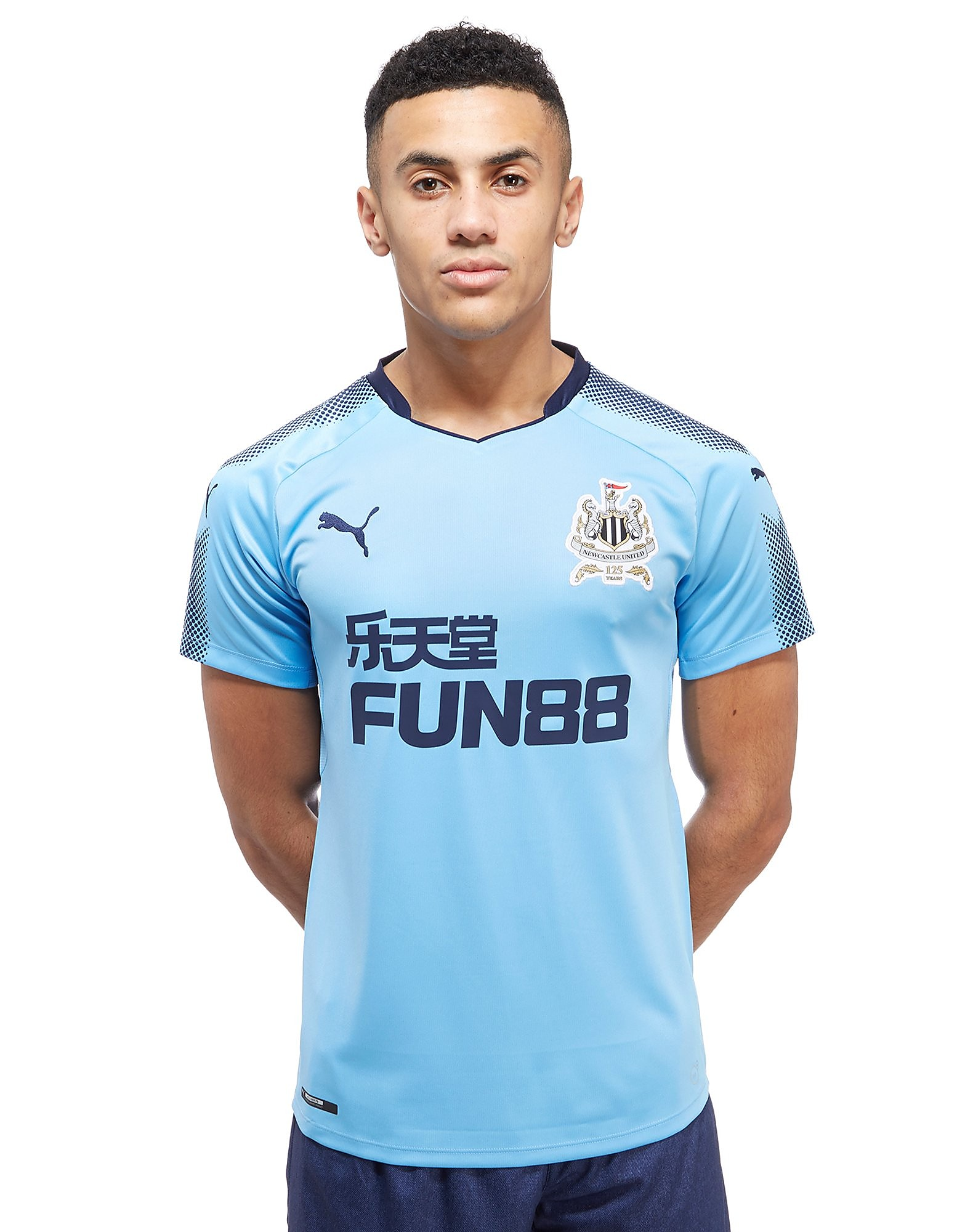 PUMA Newcastle United 2017/18 Away Shirt