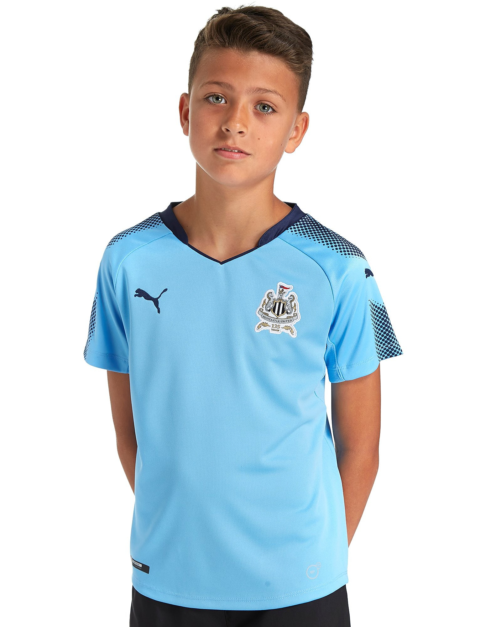 PUMA Newcastle United 2017/18 Away Shirt Junior