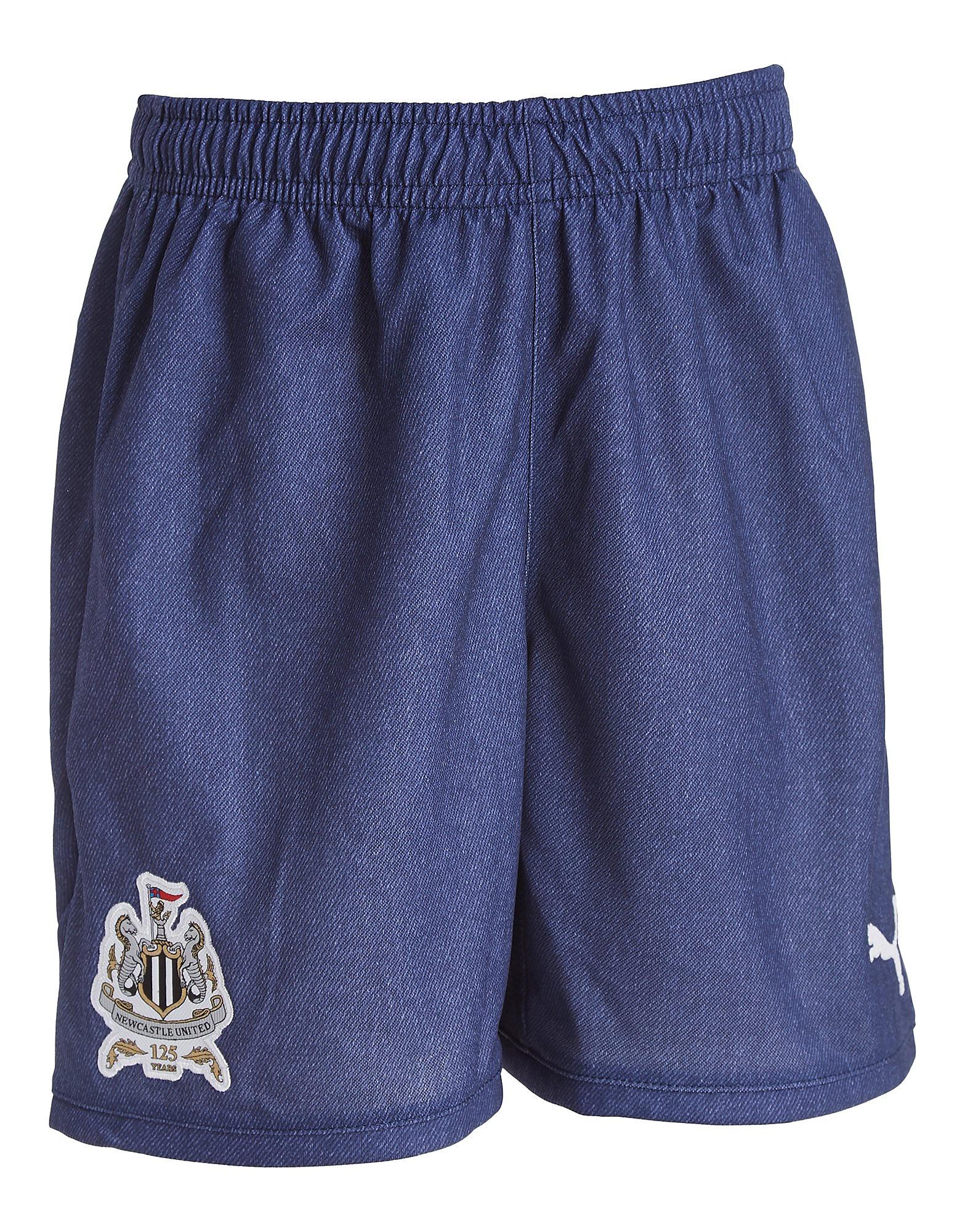 PUMA Newcastle United 2017/18 Away Shorts Junior