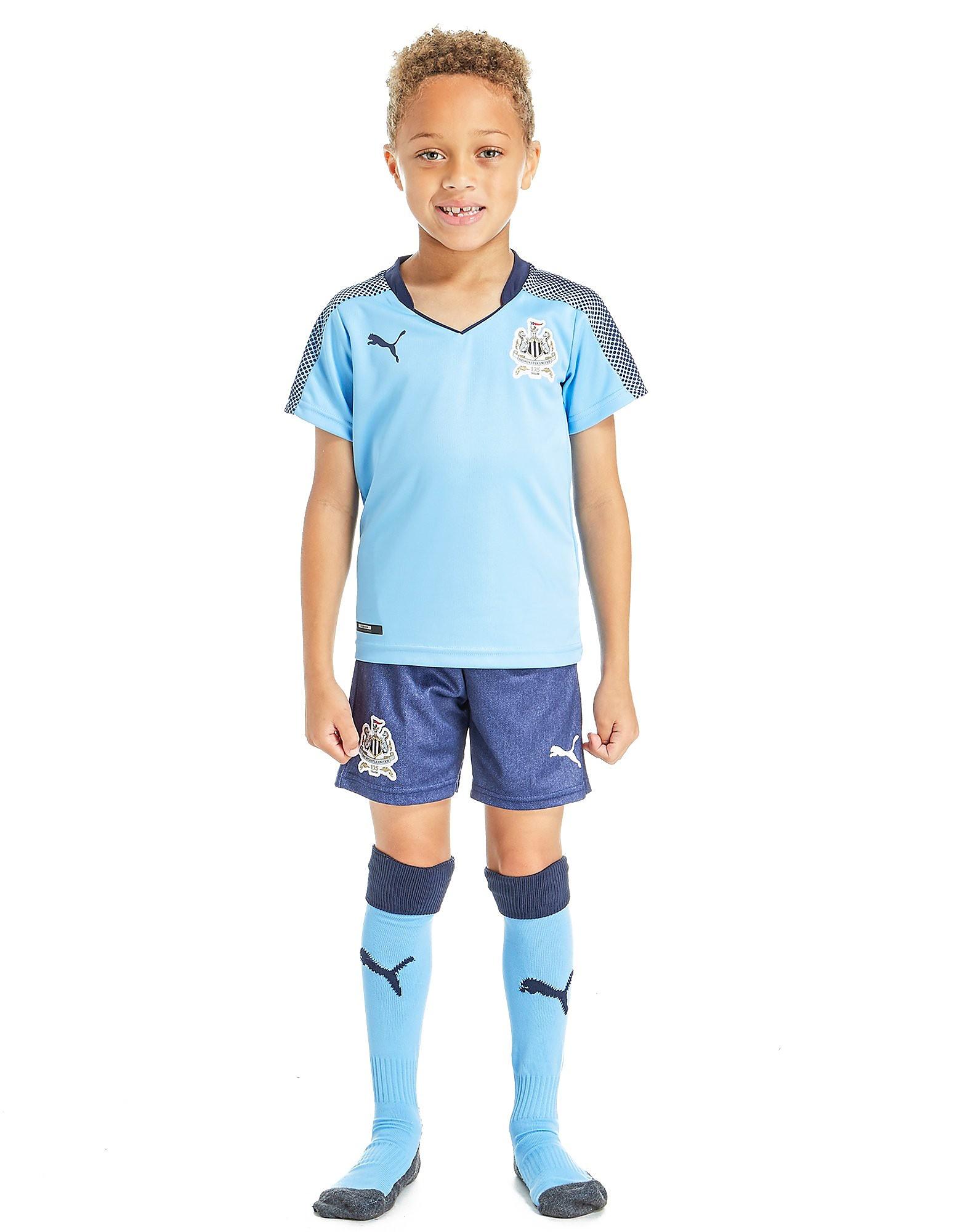 PUMA Newcastle United 2017/18 Away Kit Children
