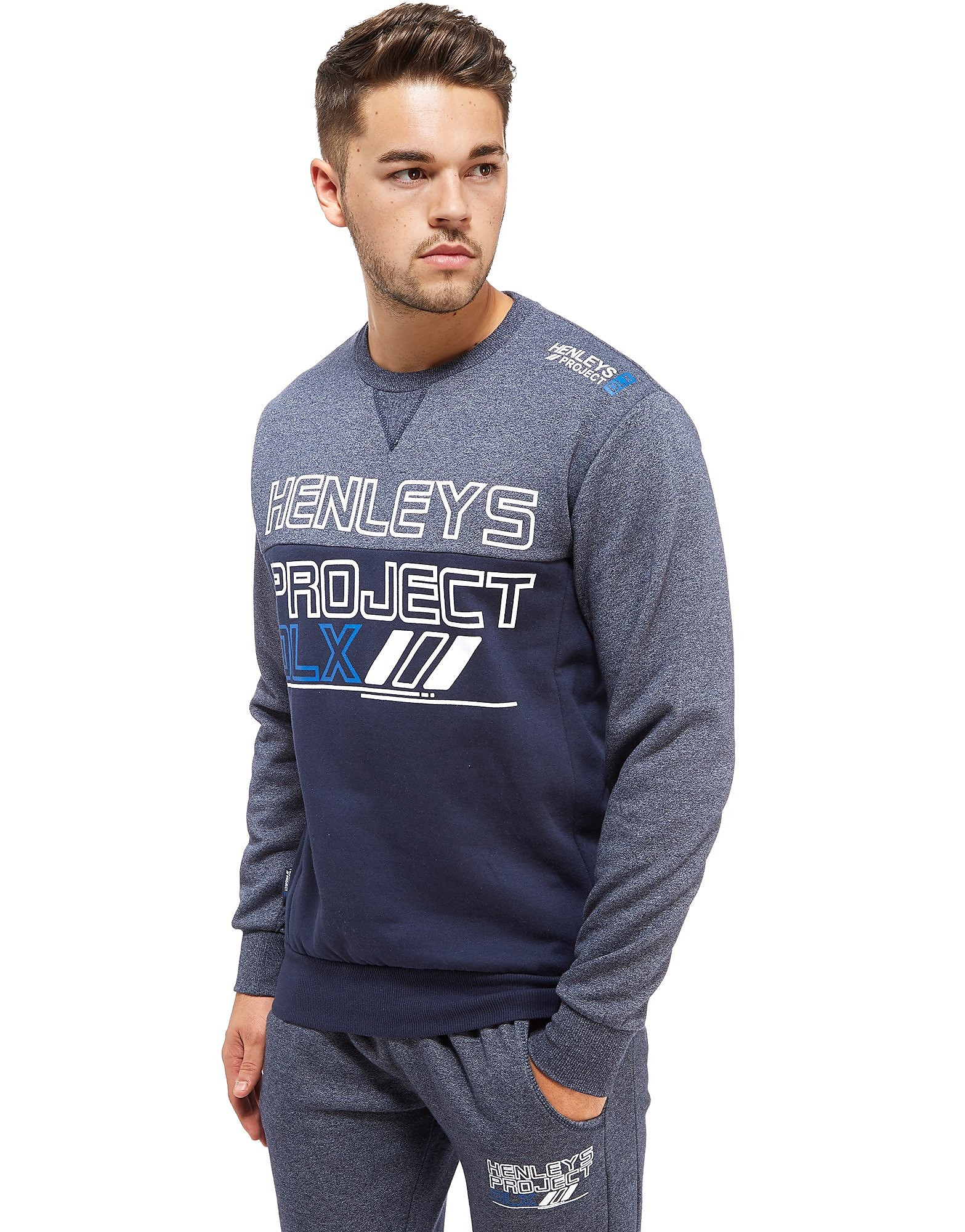 Henleys Ever Colour Block Crew Sweatshirt