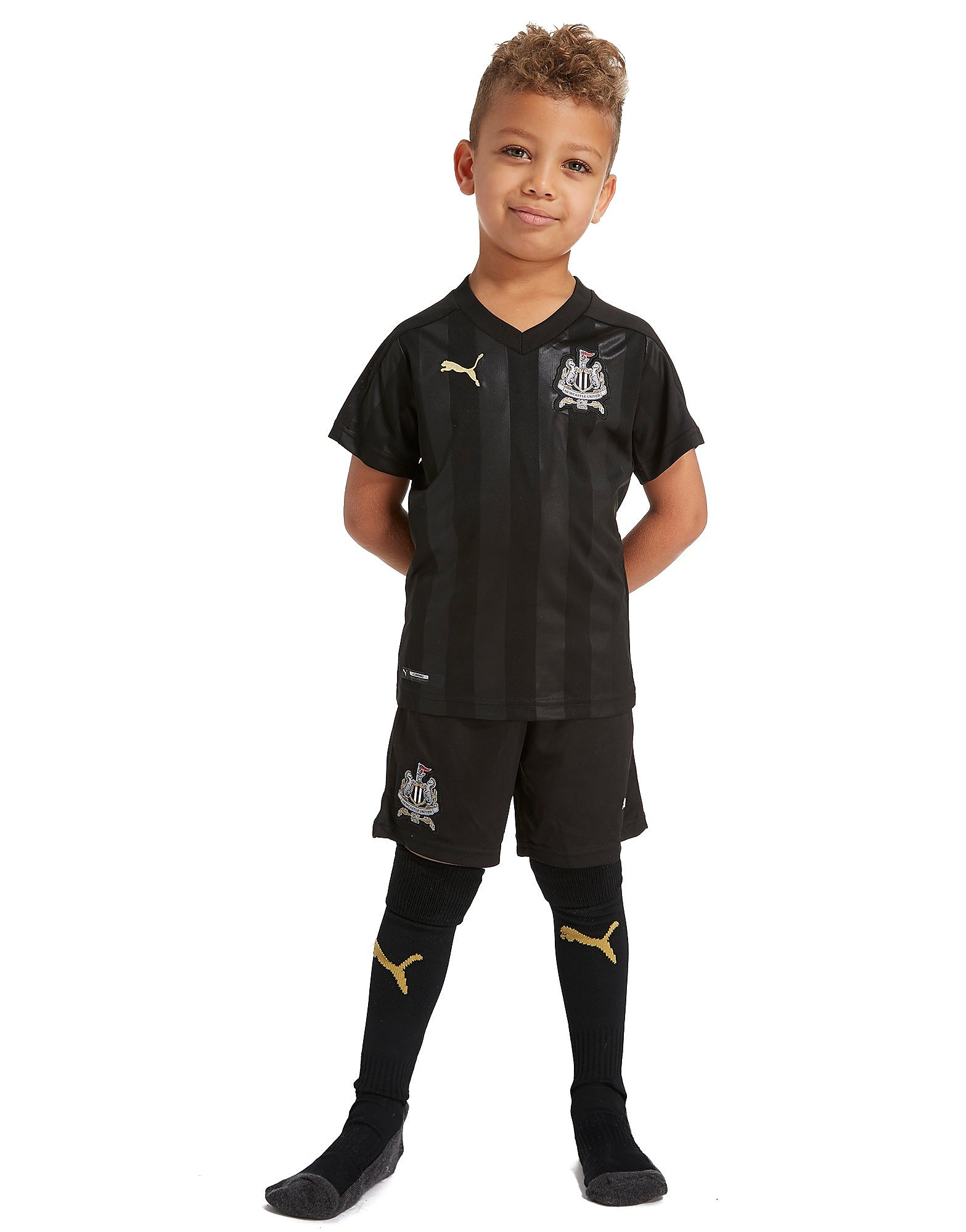 PUMA Newcastle United 2017/18 Kit Enfants