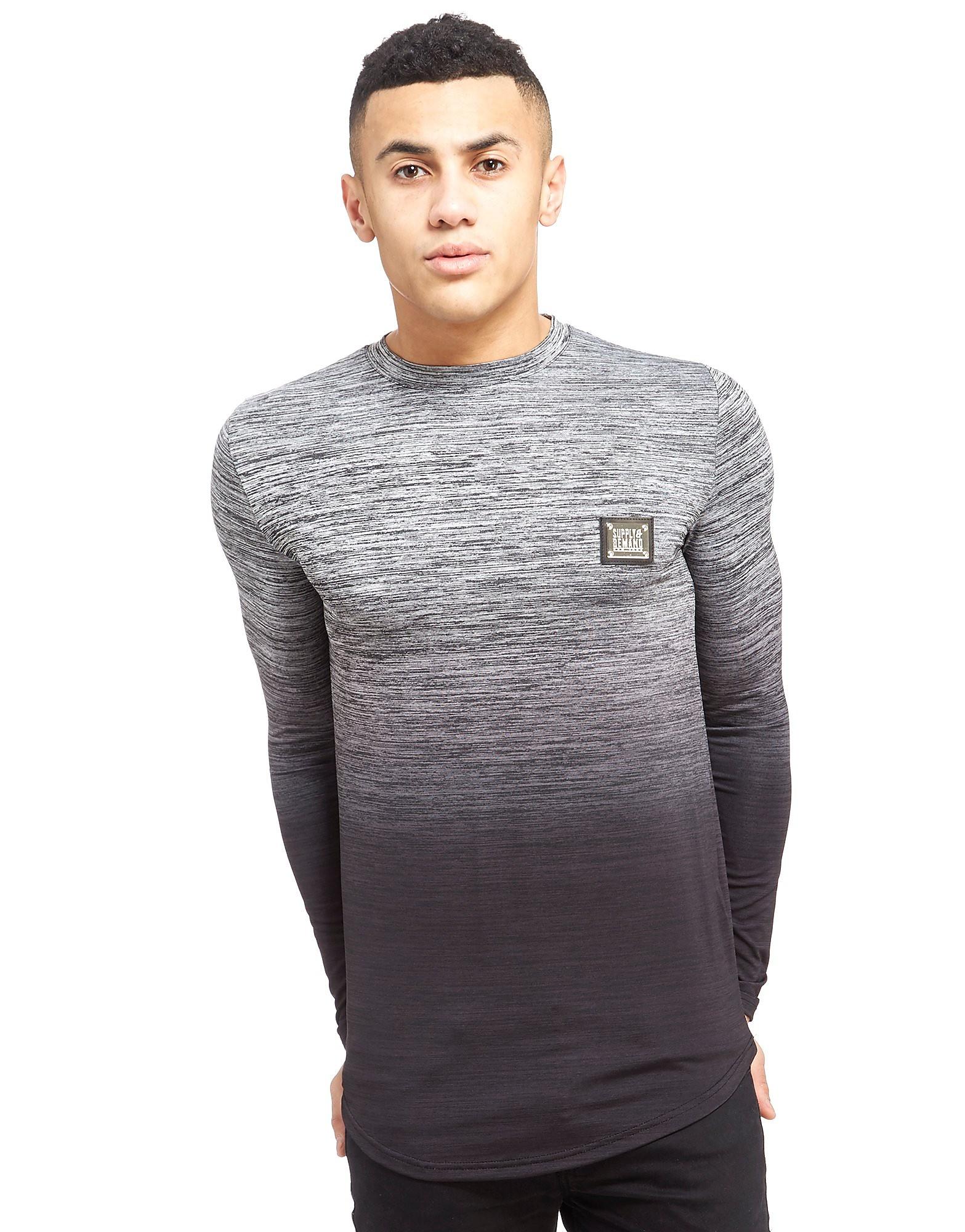 Supply & Demand Longsleeve Hendrick Fade T-Shirt