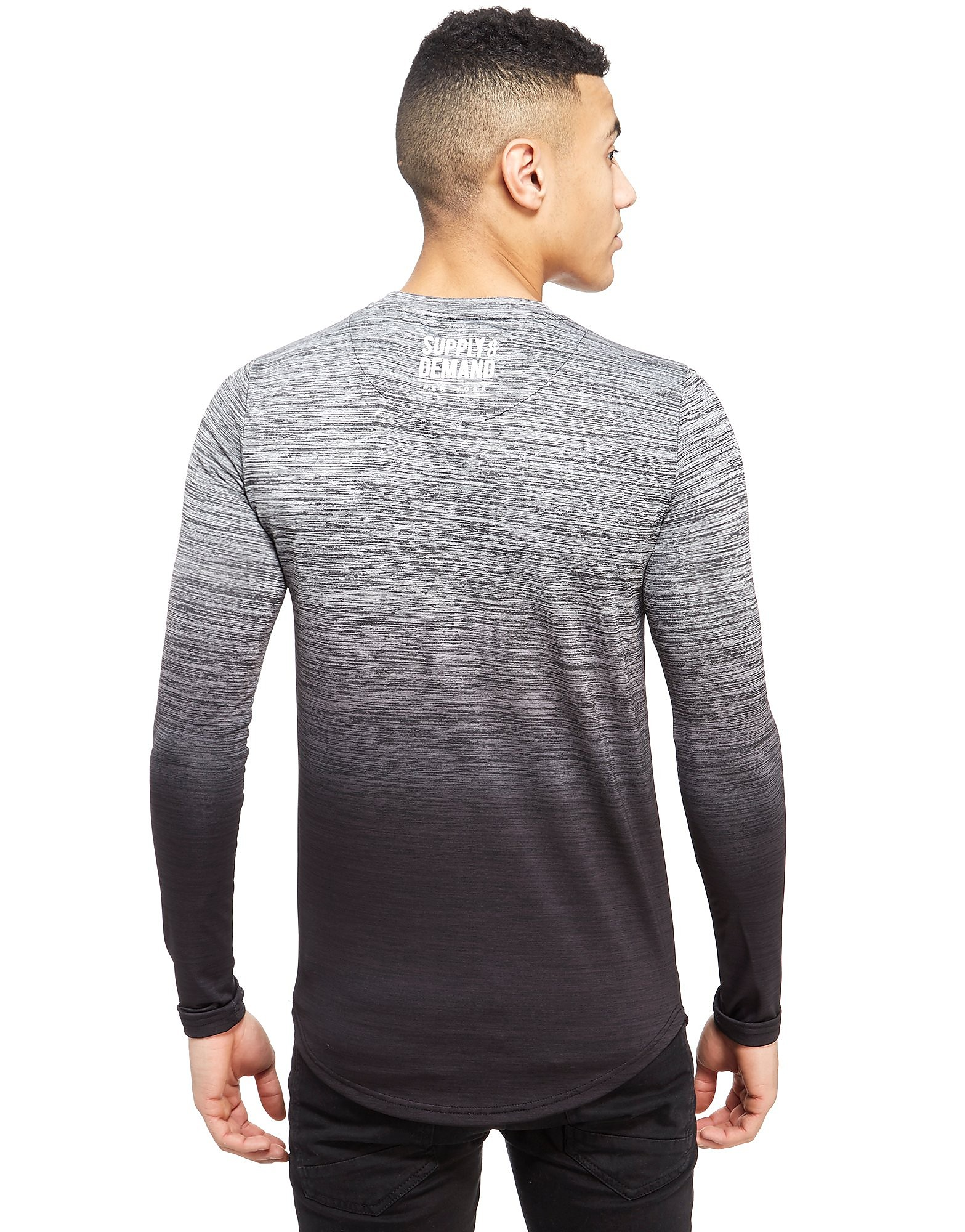 Supply & Demand Longsleeve Hendrick Fade T-Shirt