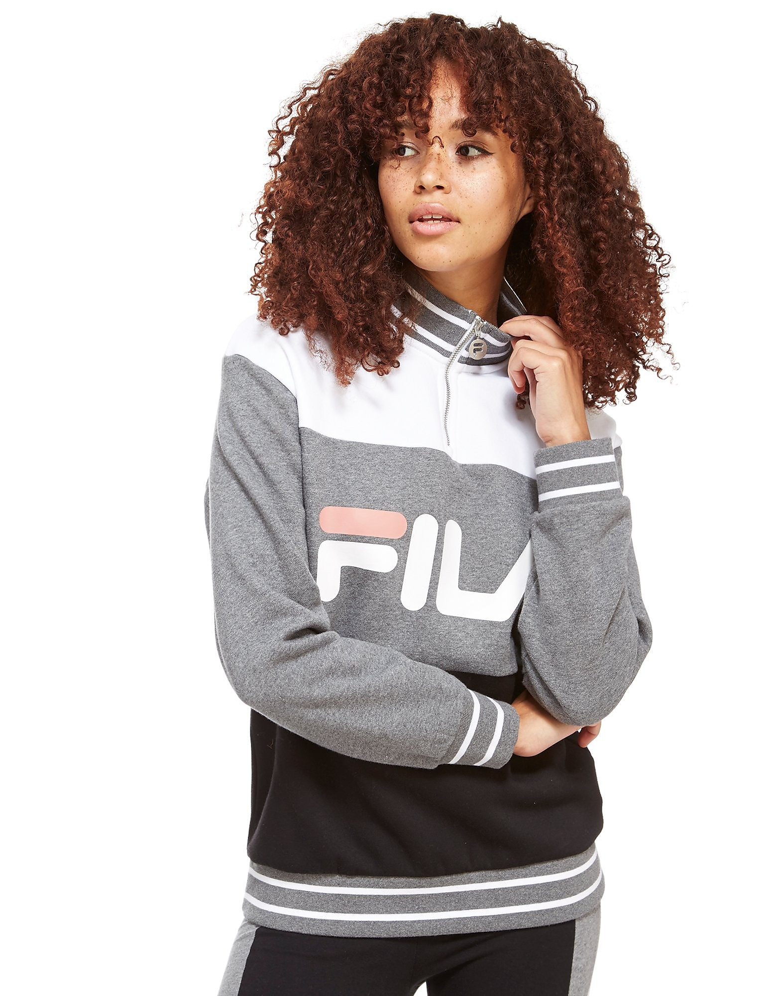 Fila Panel 1/4 Zip Top