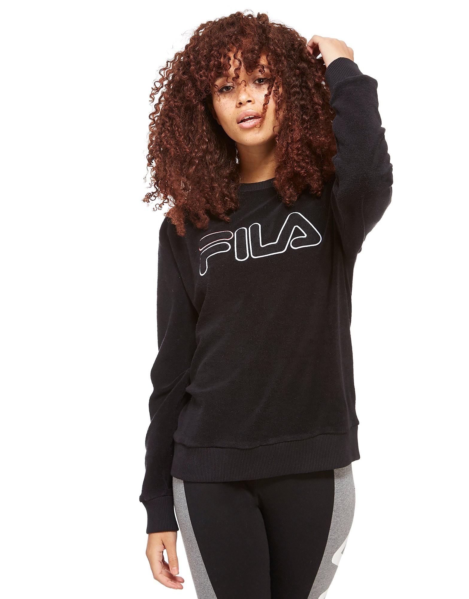 Image of   Fila Pearle Towel Sweatshirt med Rund Hals - Only at JD