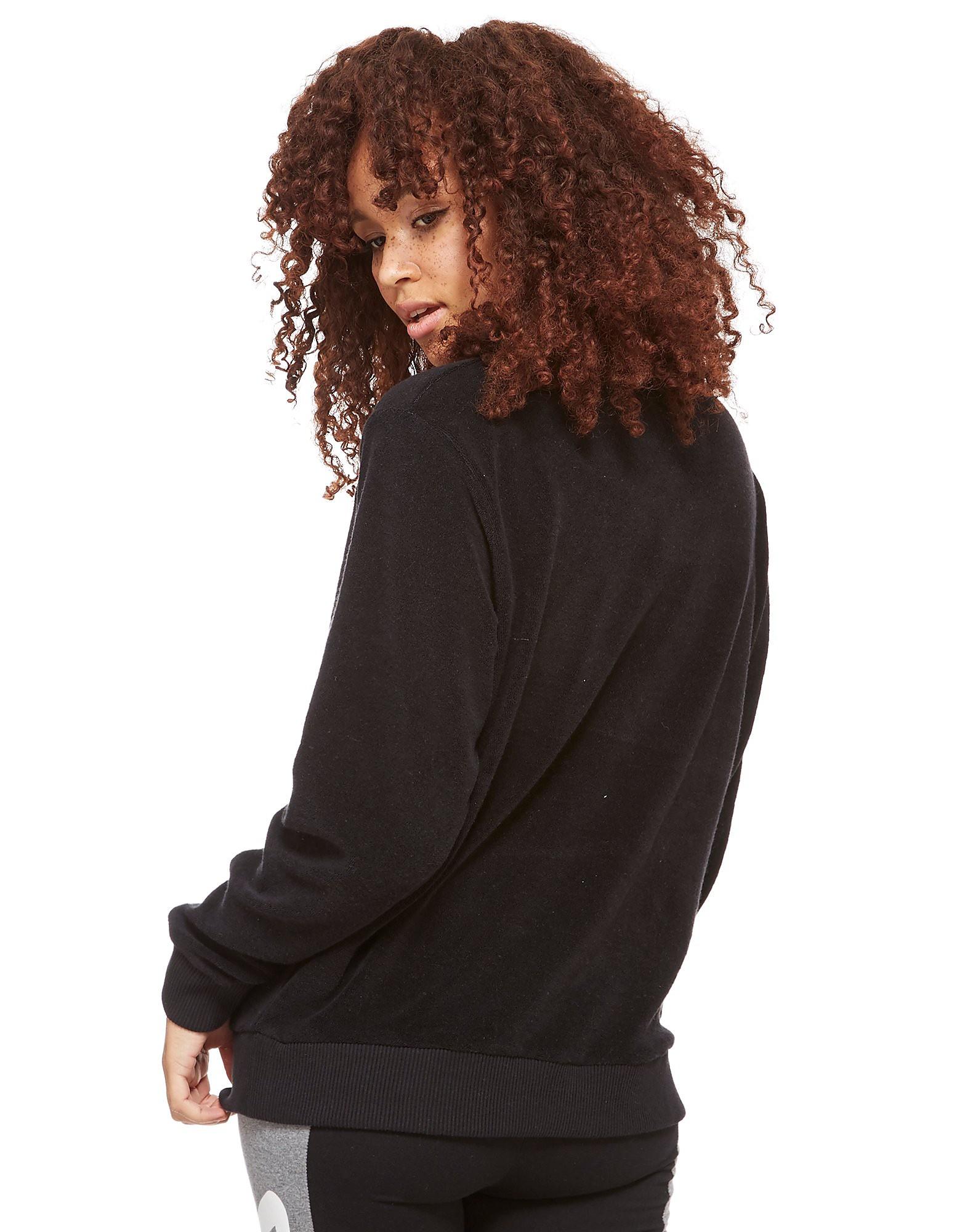 Fila Pearle Towel Sweatshirt med Rund Hals