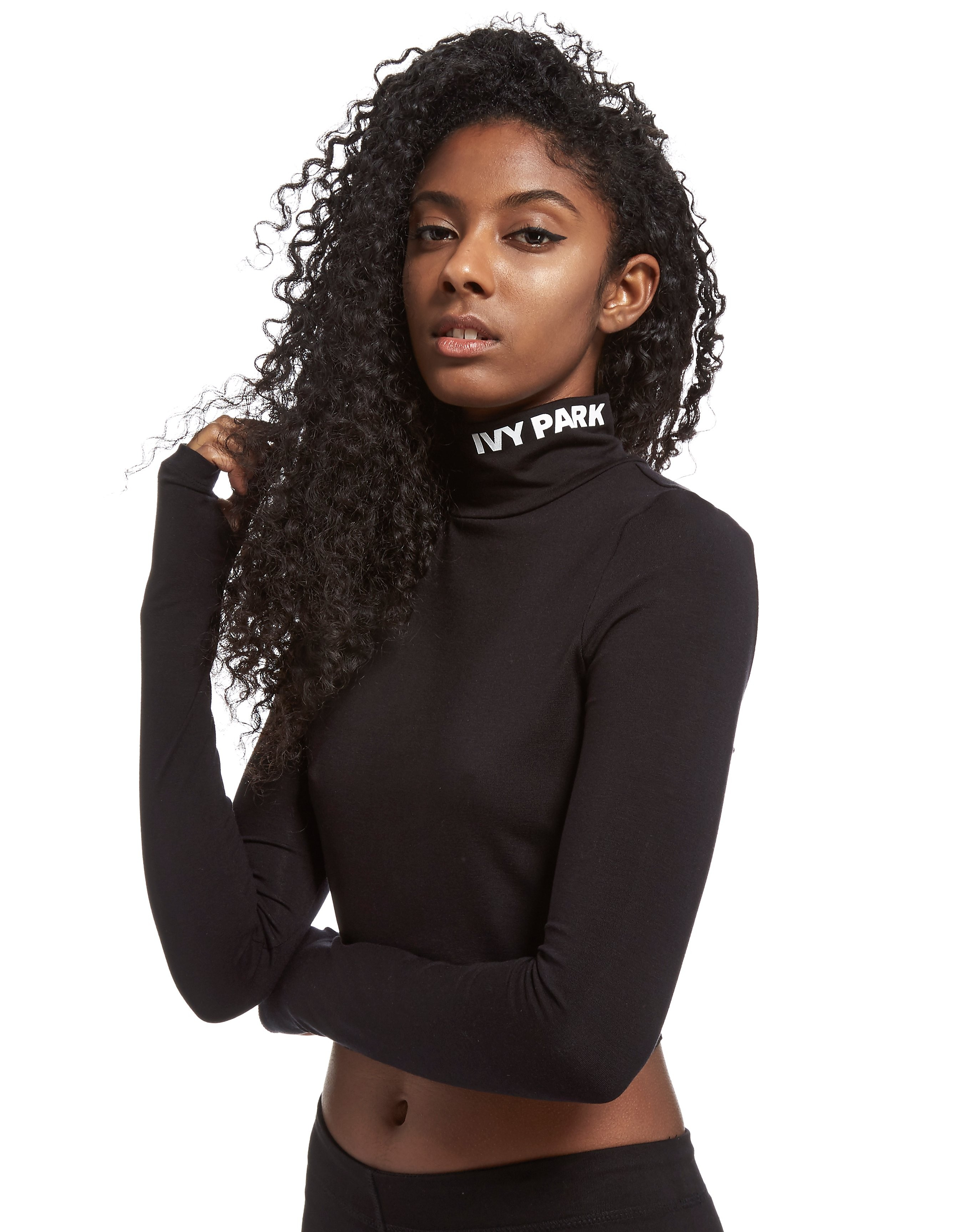 IVY PARK High Neck Crop Top