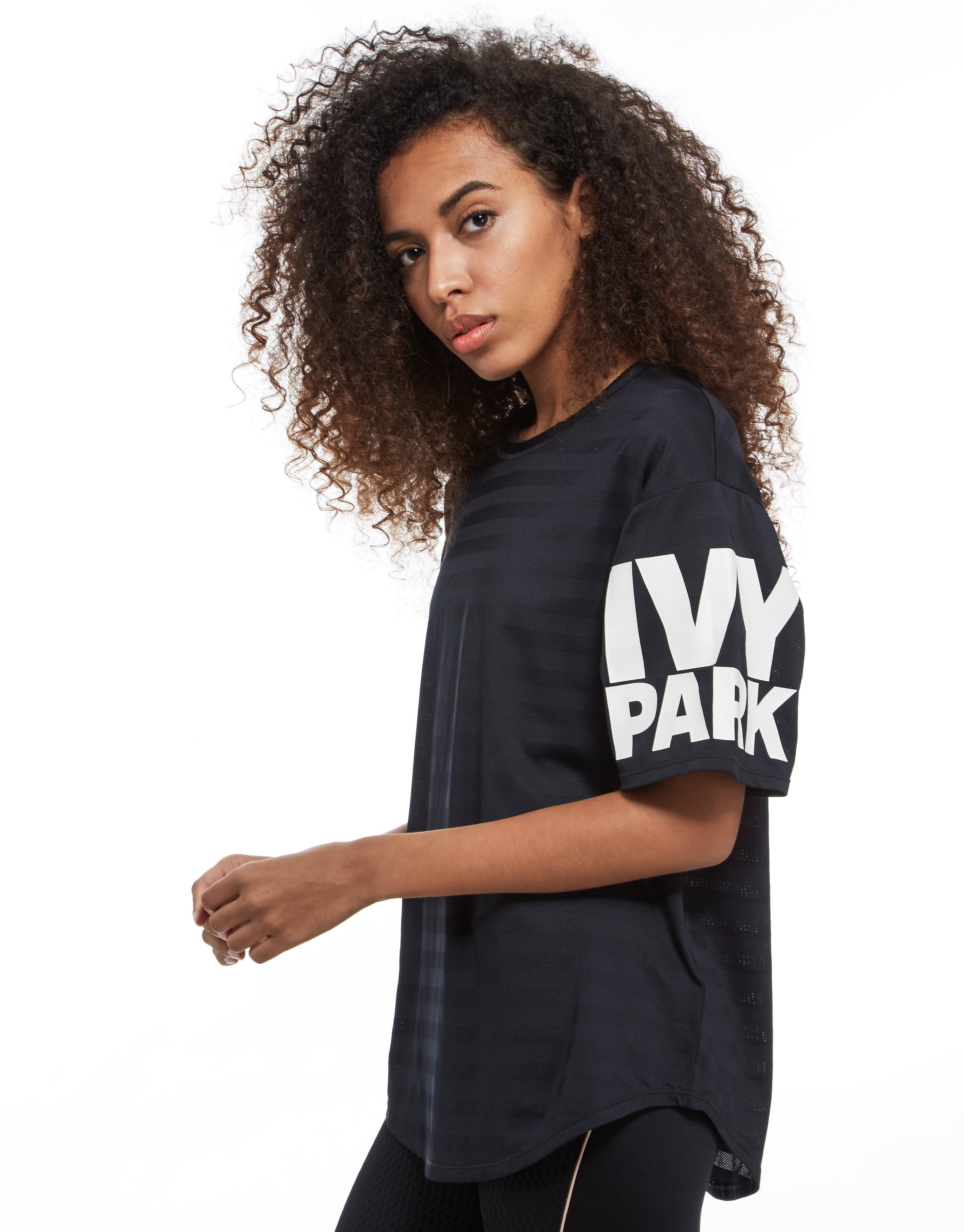 IVY PARK Stripe Mesh T-Shirt