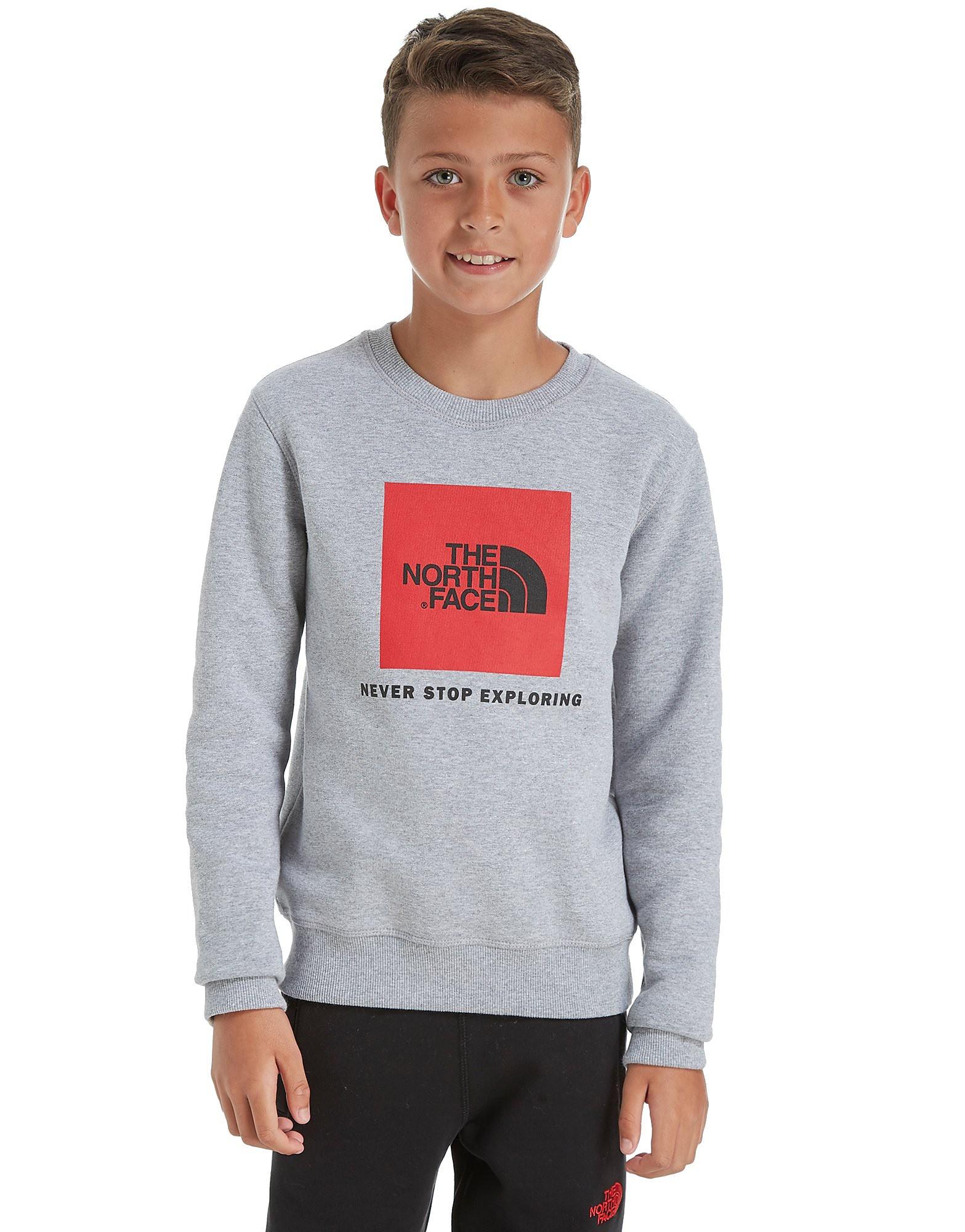 The North Face Boy's Box Crew Sweatshirt Junior