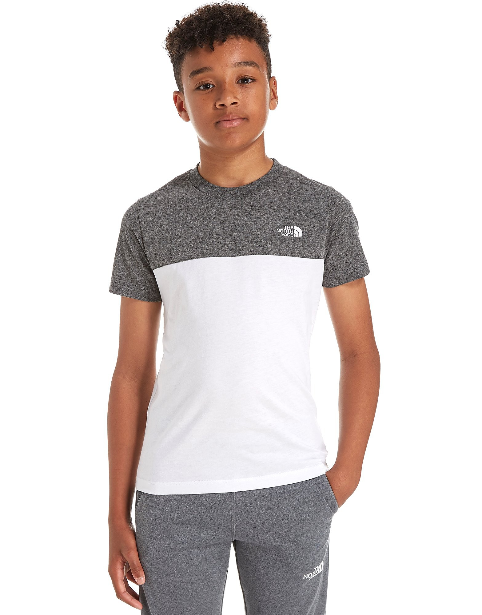 The North Face Colour Block T-Shirt Kinderen