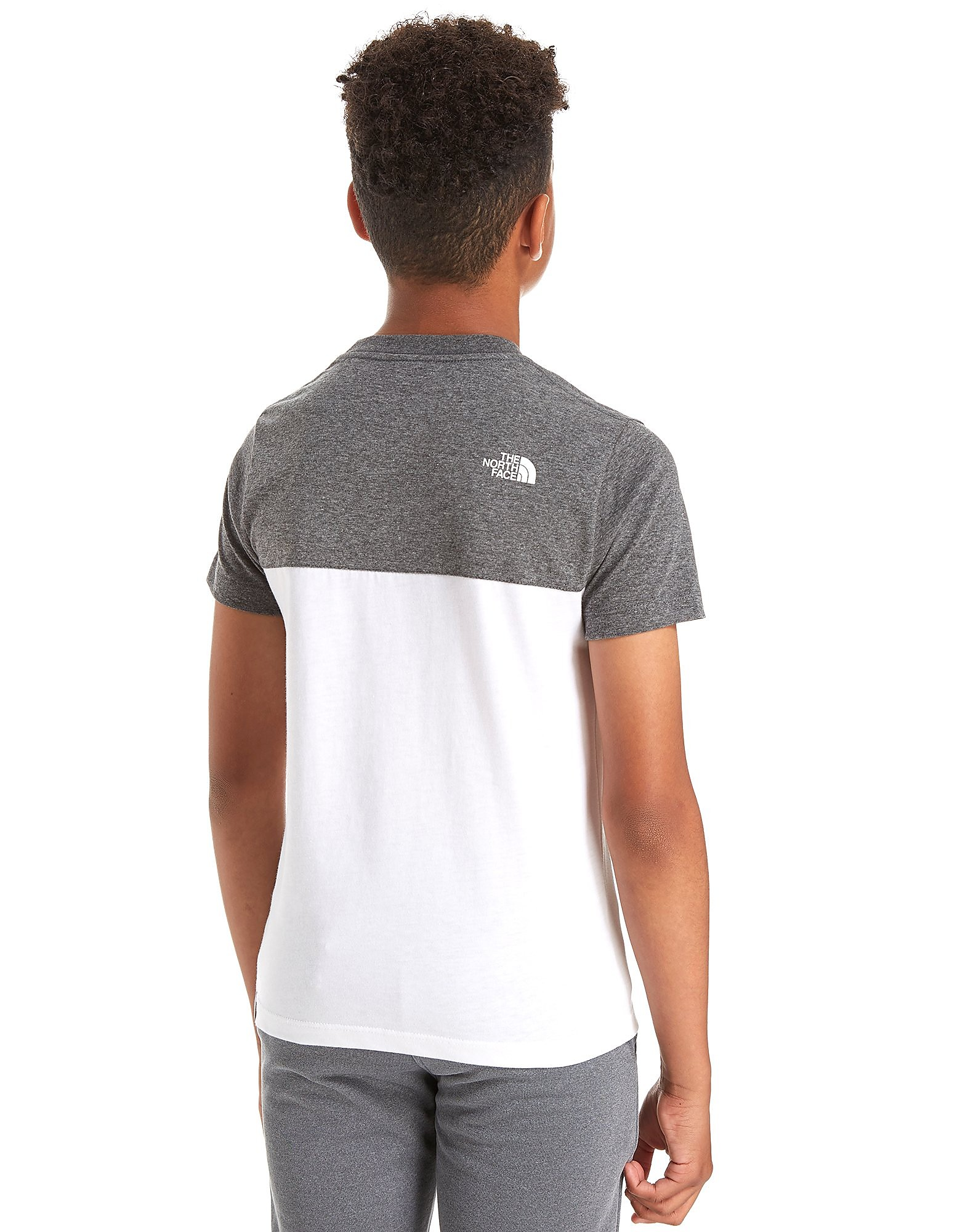 The North Face camiseta Colour Block júnior
