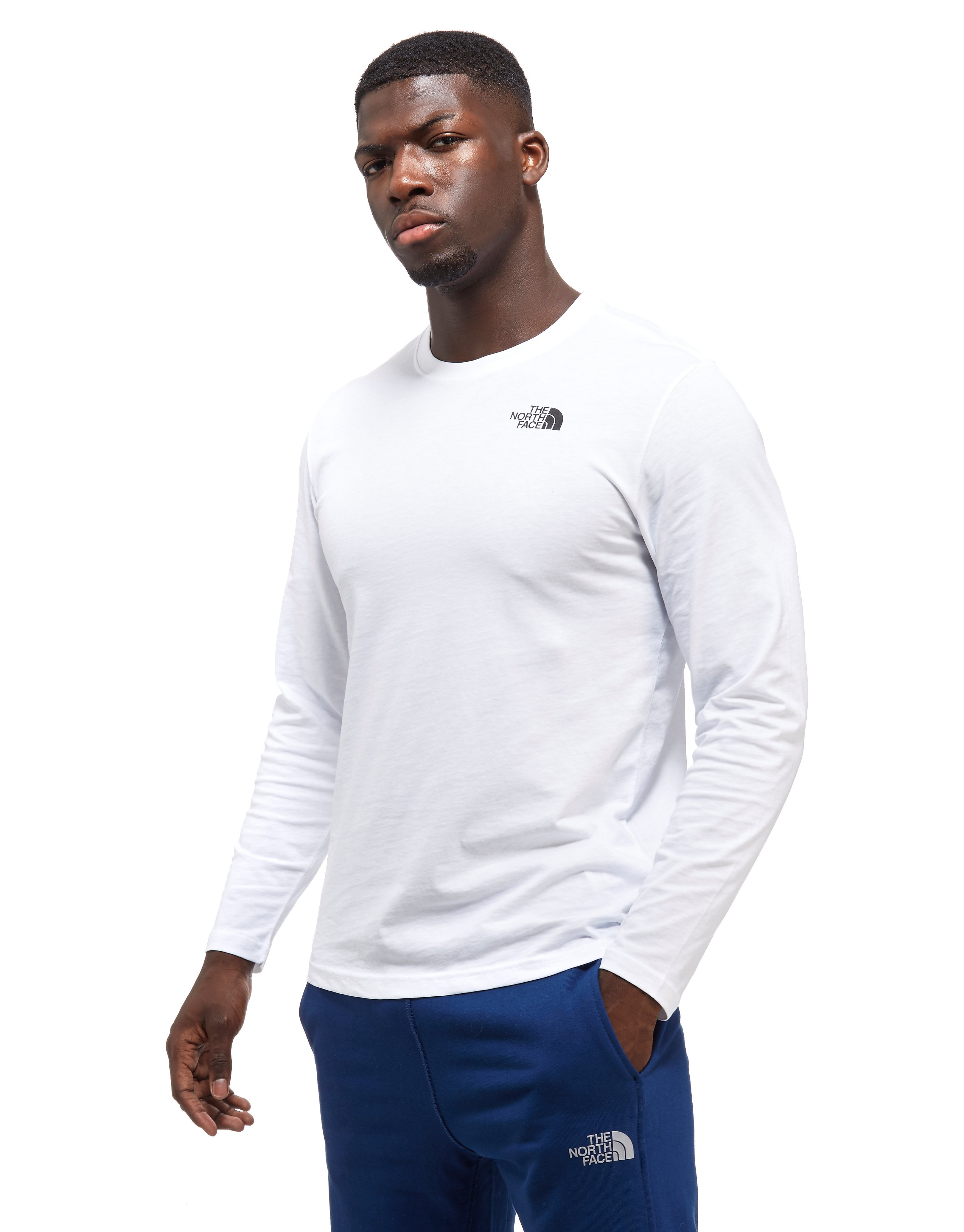 The North Face Long-sleeved Red Box T-Shirt