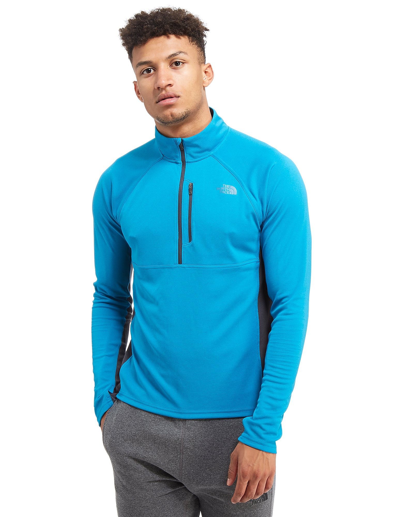 The North Face Ambition 1/4 Zip Top - Brilliant Blue - Heren