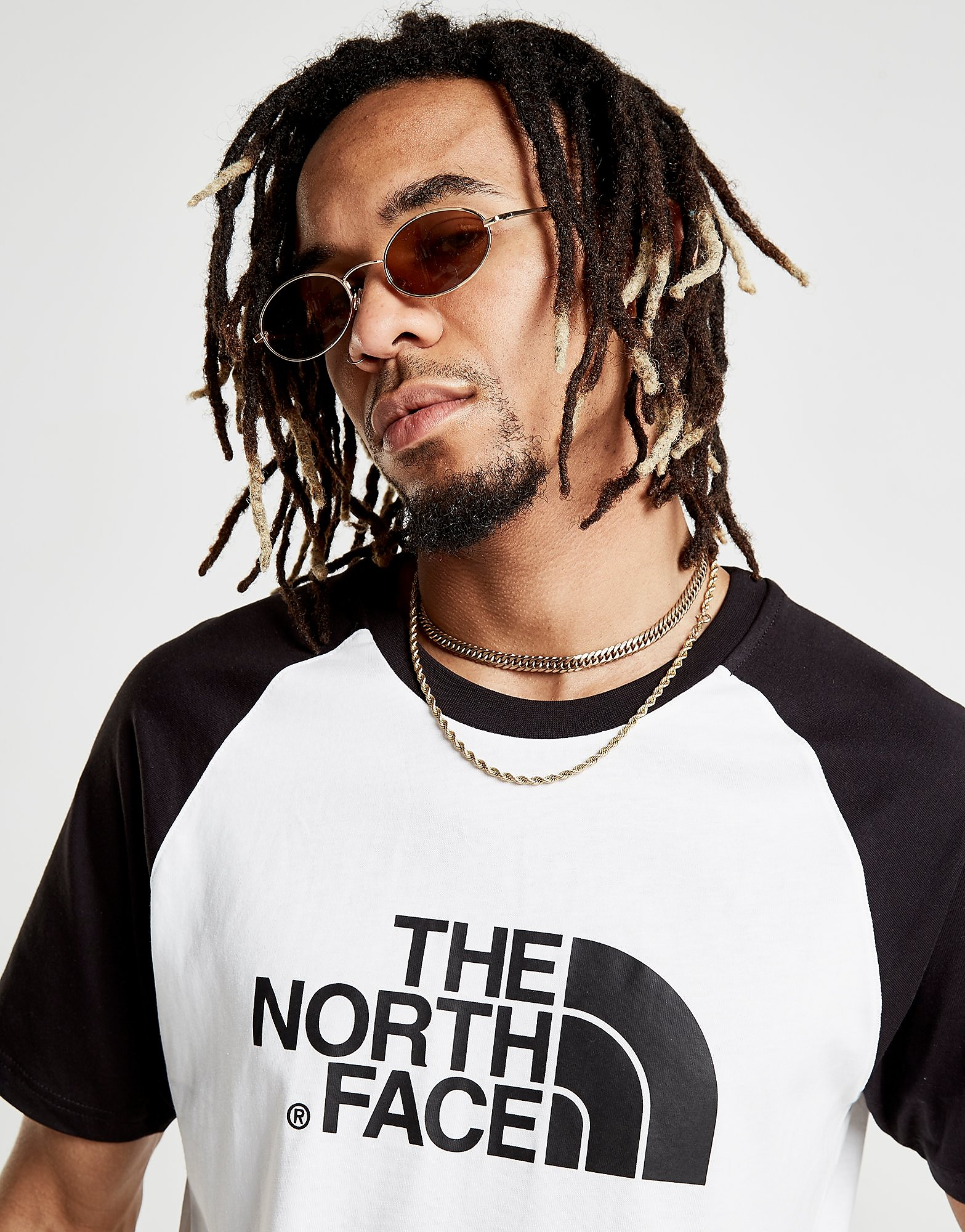 The North Face Raglan Easy T-Shirt Heren