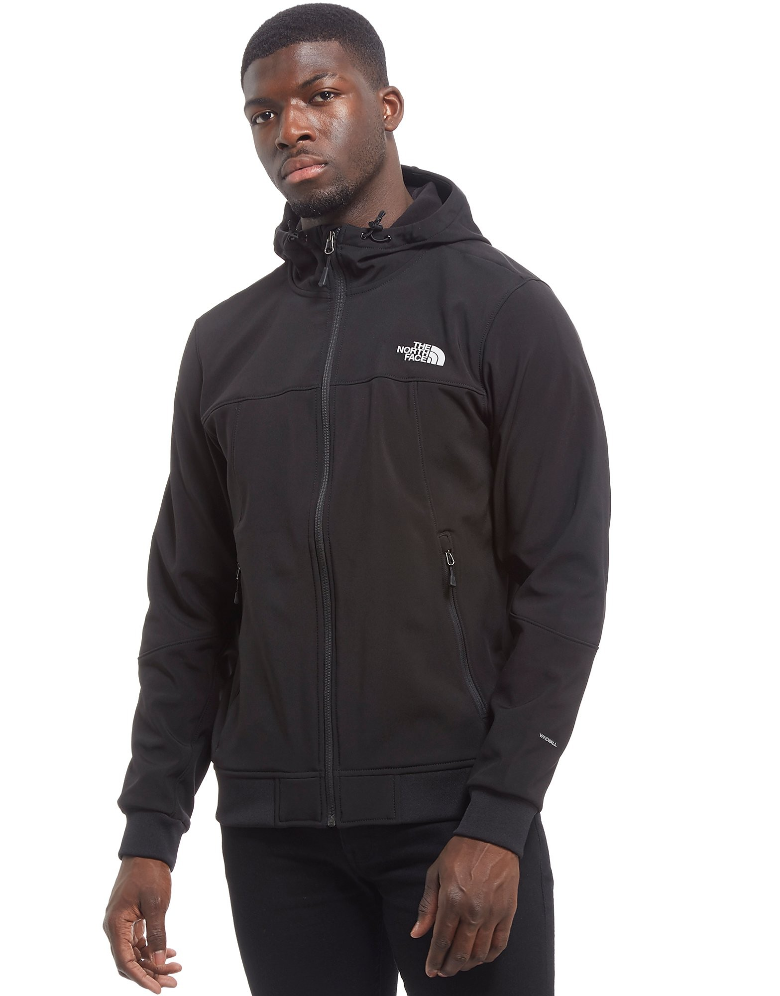 The North Face Jaquette Millbrook Softshell Bomber - Only at JD - Black, Black